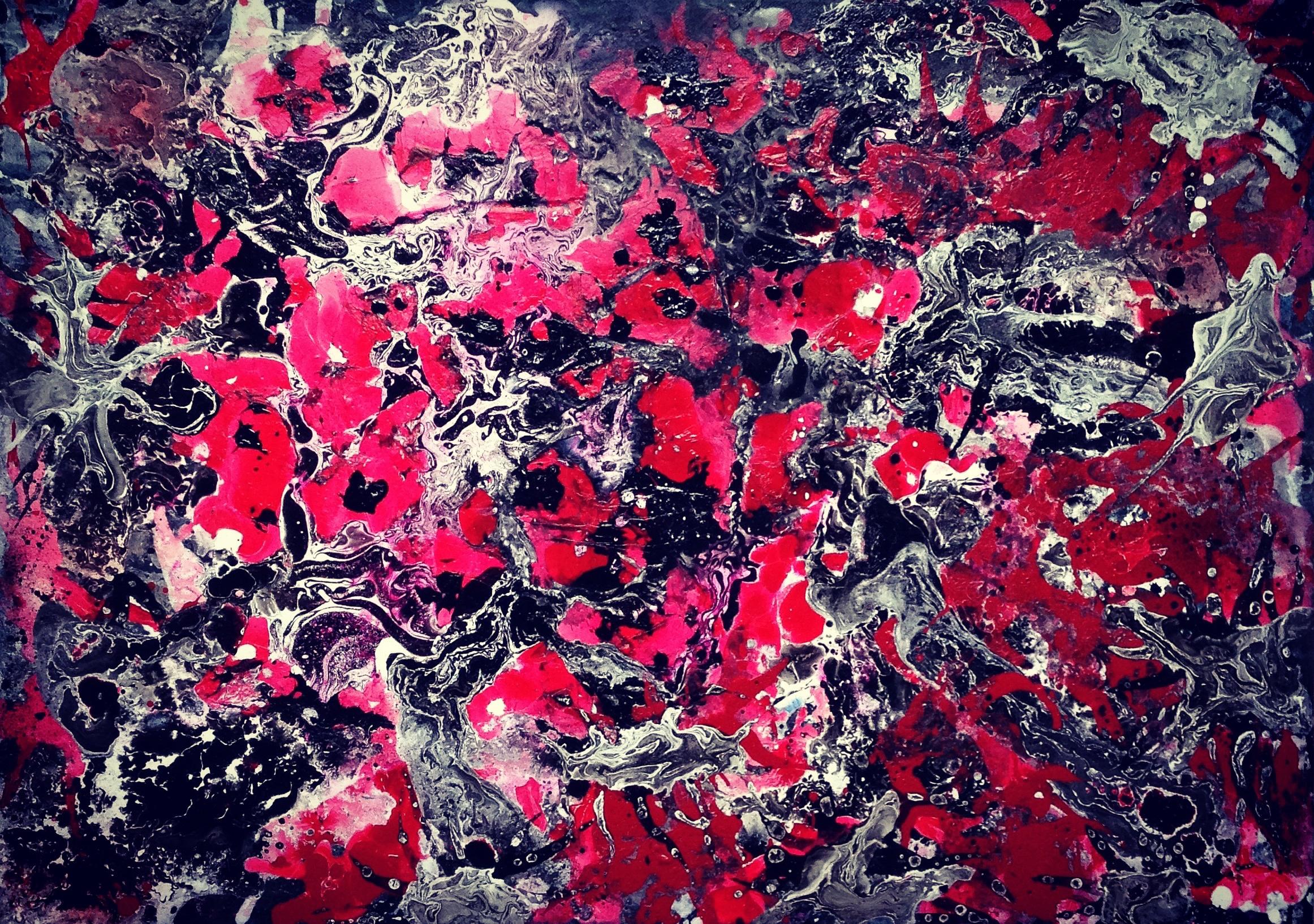Hintergrundbilder : bunt, abstrakt, rot, Kunstwerk, Muster, KUNST ...