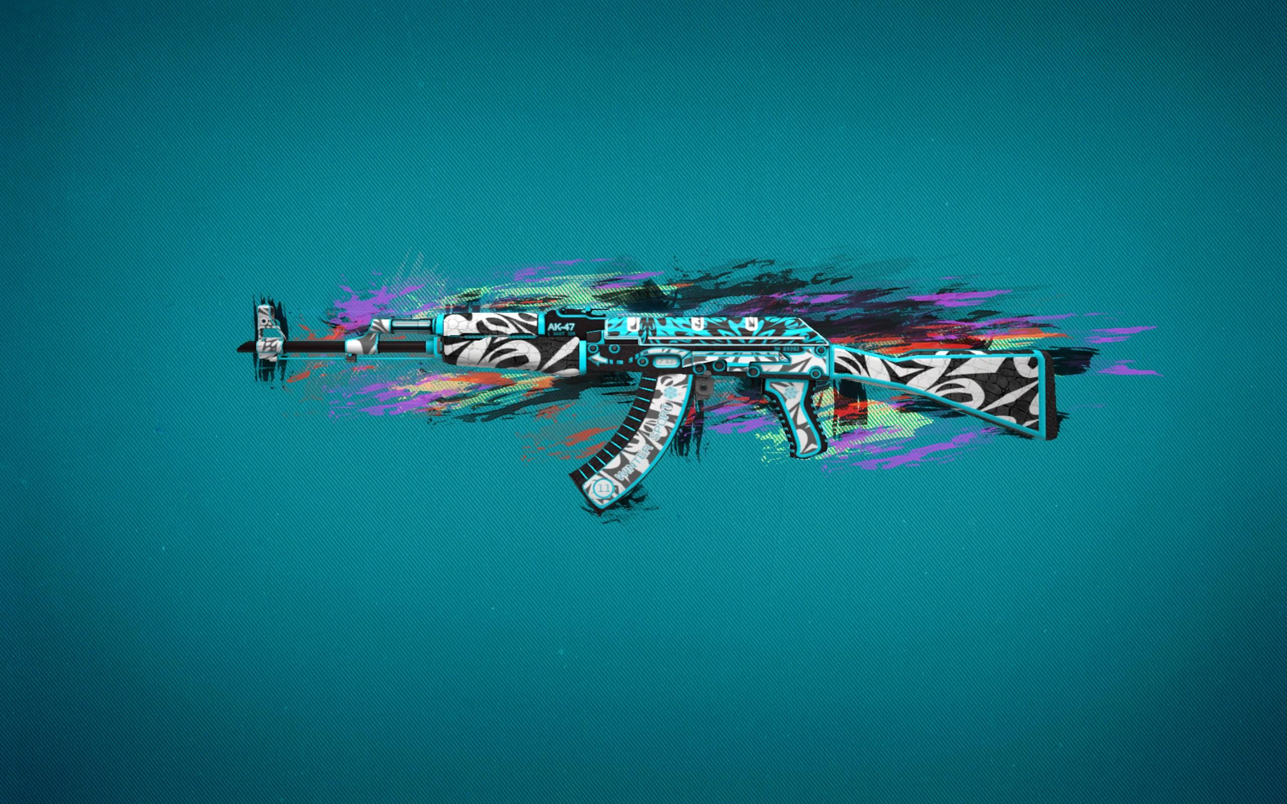 Sfondi Colorato Arma Blu Militare Counter Strike Global