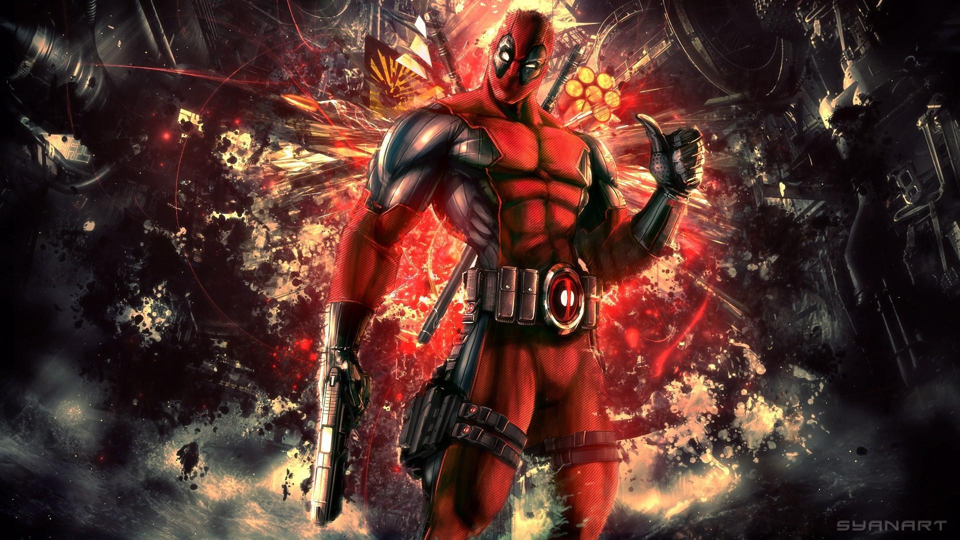 Wallpaper Comics Deadpool Mythology Games Screenshot