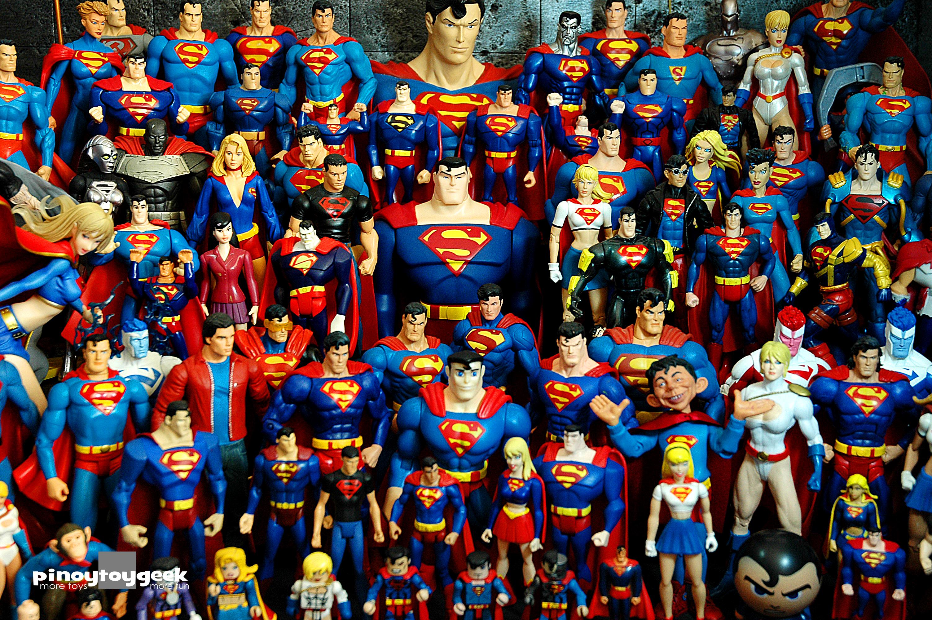 Wallpaper Comics Toys Amazon Flash Superman Wonderwoman