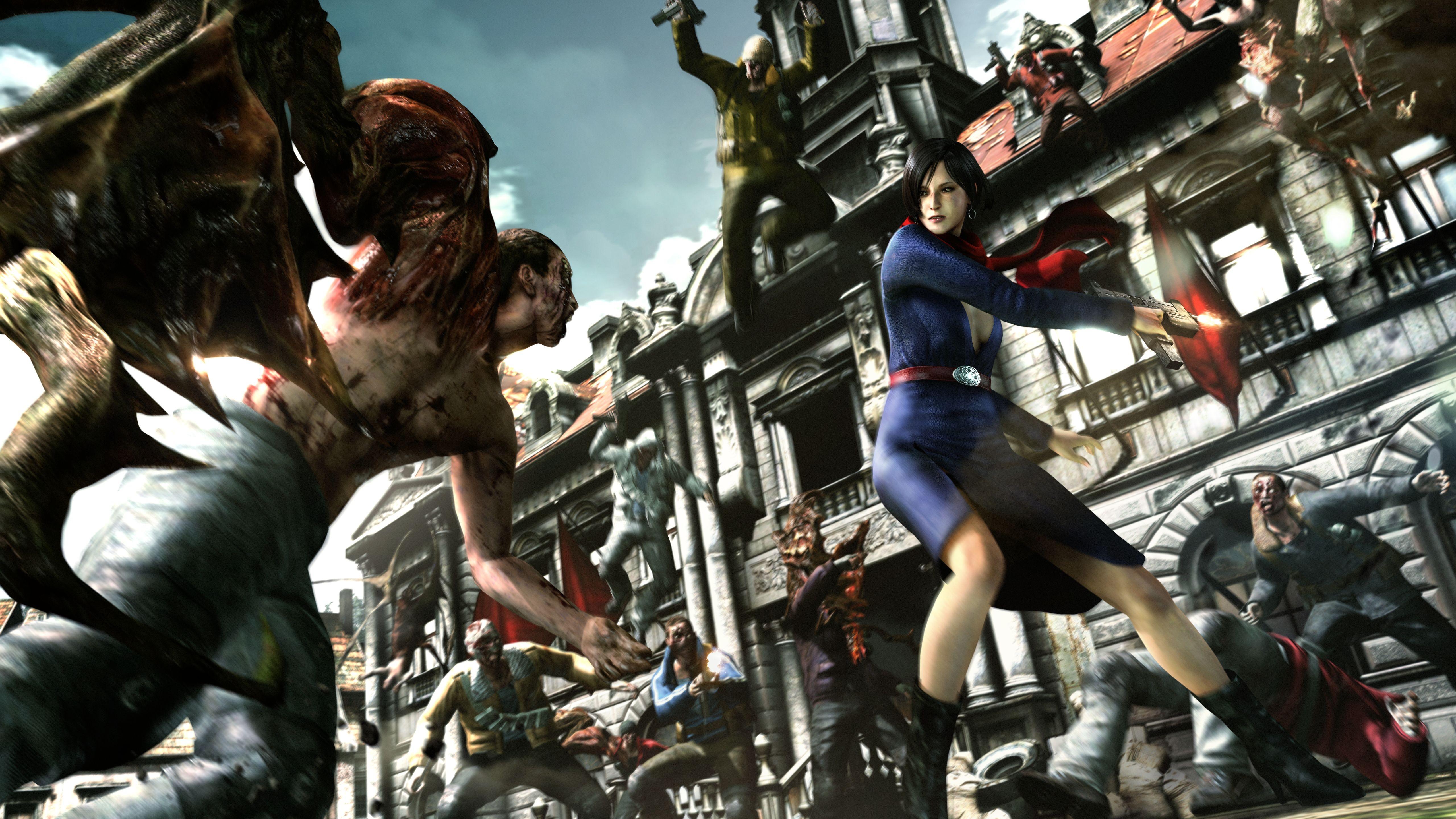 Wallpaper Comics Zombies Resident Evil 6 Ada Wong Carla