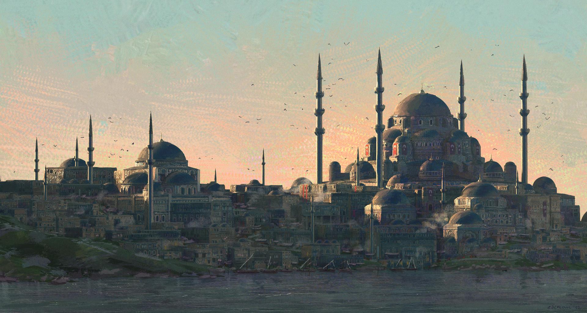 Wallpaper Concept Art Architecture City Ottoman Empire