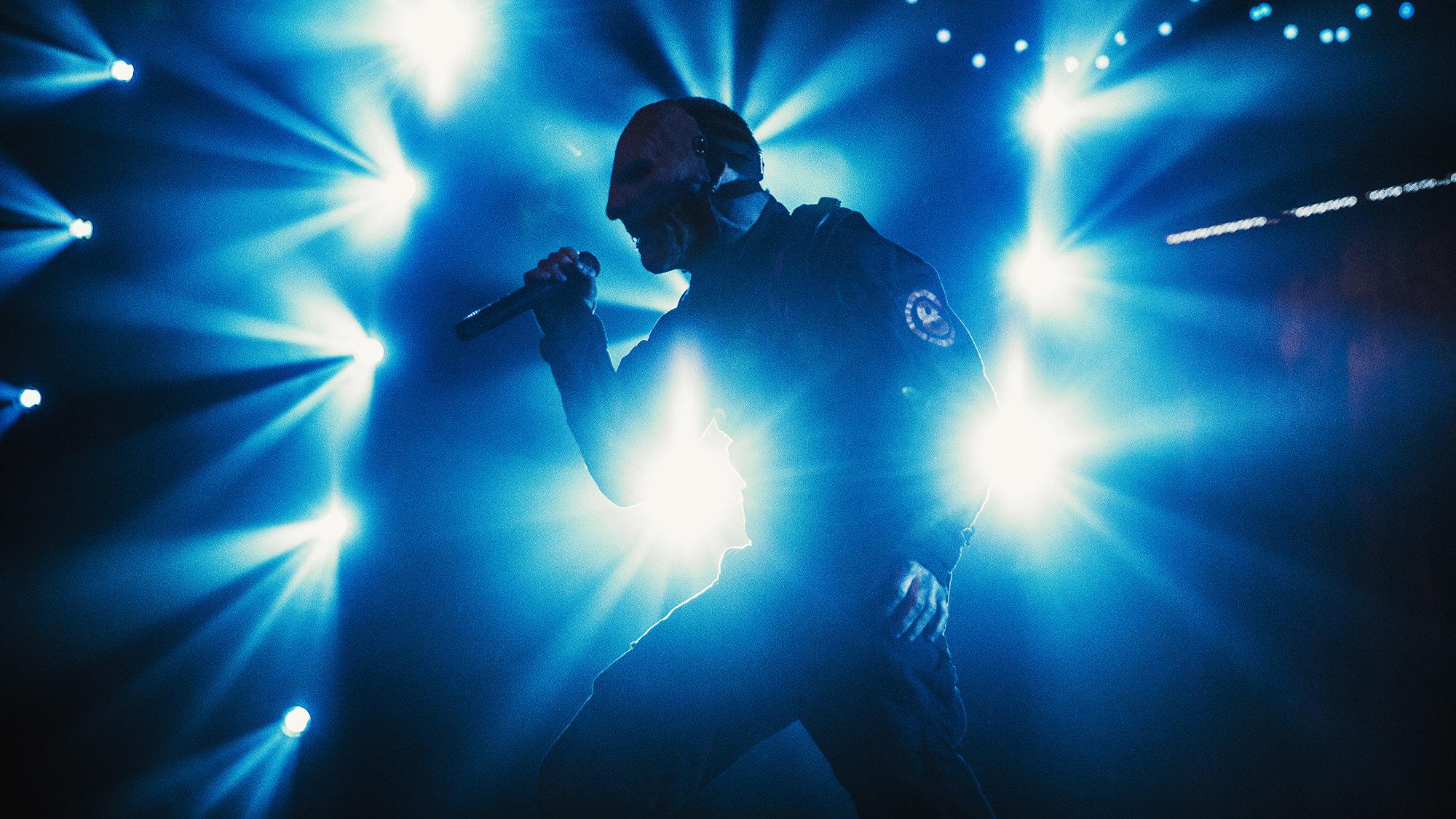 Wallpaper Concerts Musician Singer Silhouette Slipknot