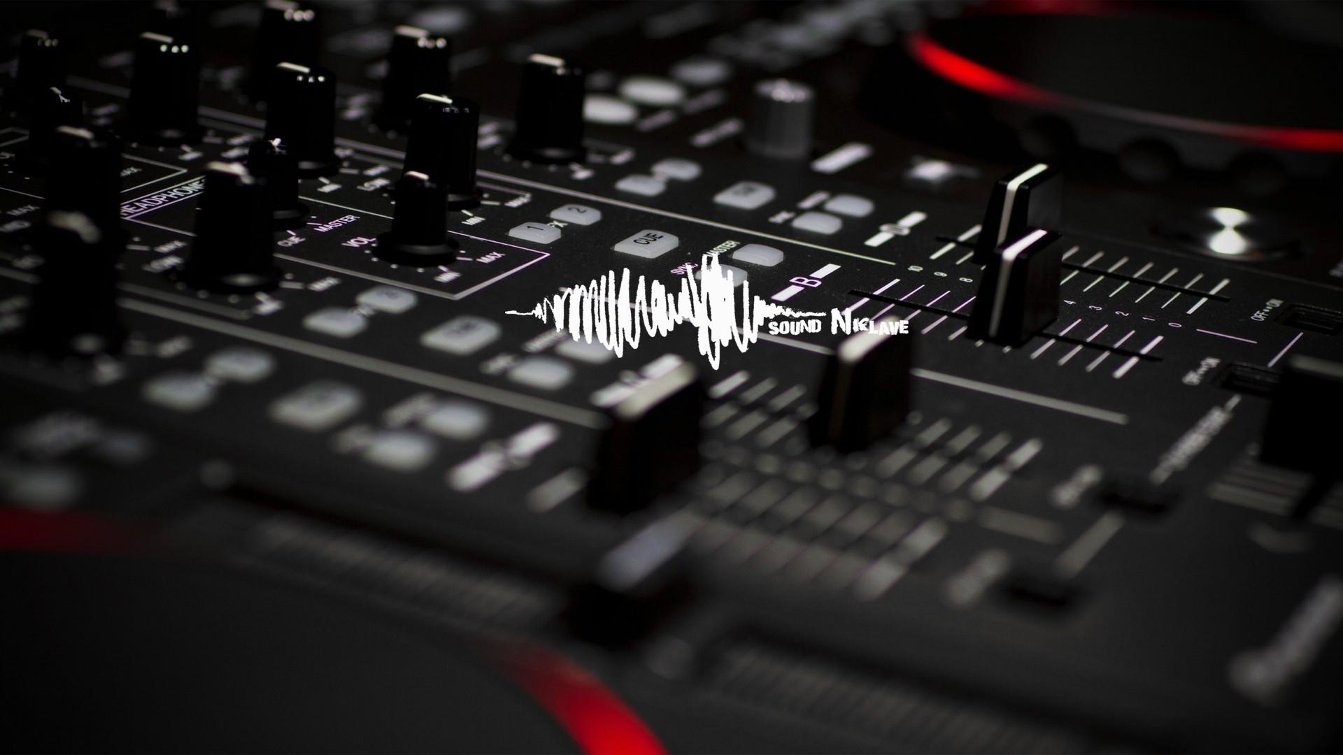 Wallpaper Techno Mixing Consoles Electronics Sound Electronic
