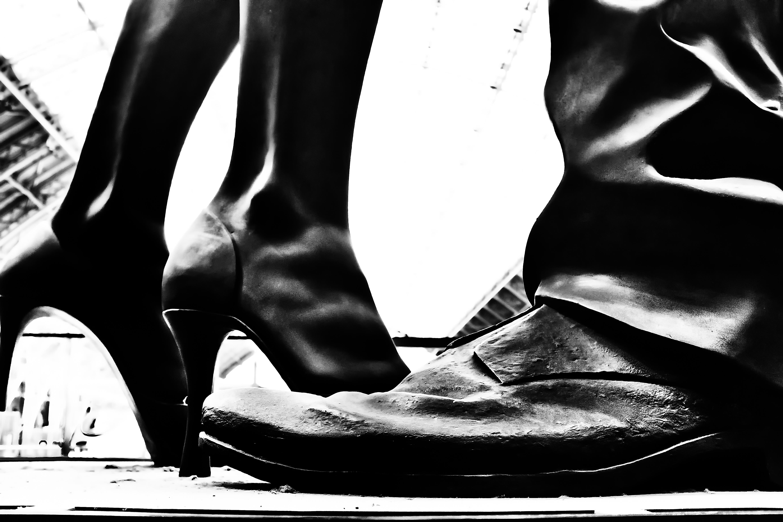 Strumpf Füße Fersen