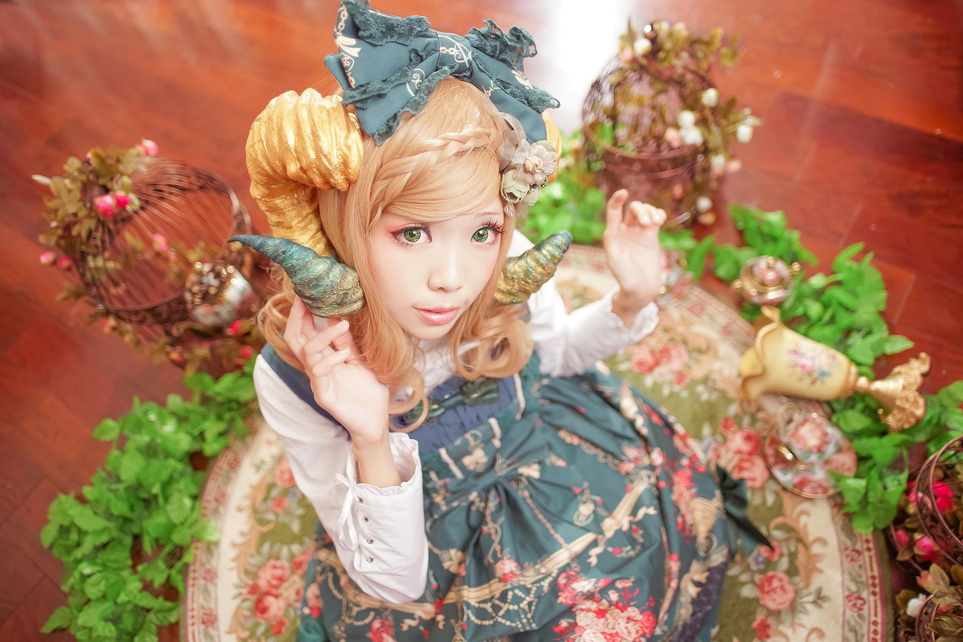 Hintergrundbilder : Cosplay, Modell-, grüne Augen, Viktorianische ...