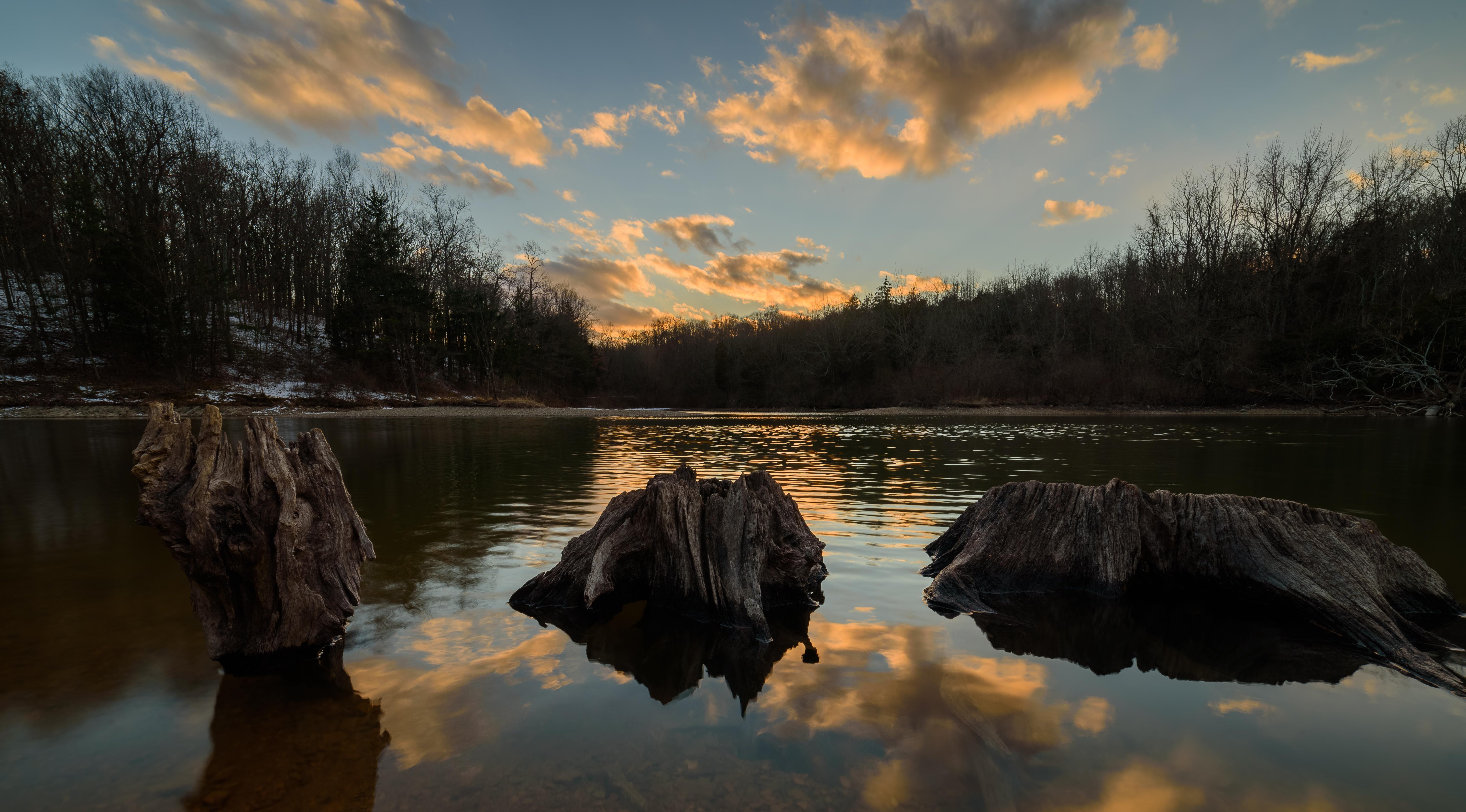 Wallpaper Coucherdesoleil Nature Paysage Sunset