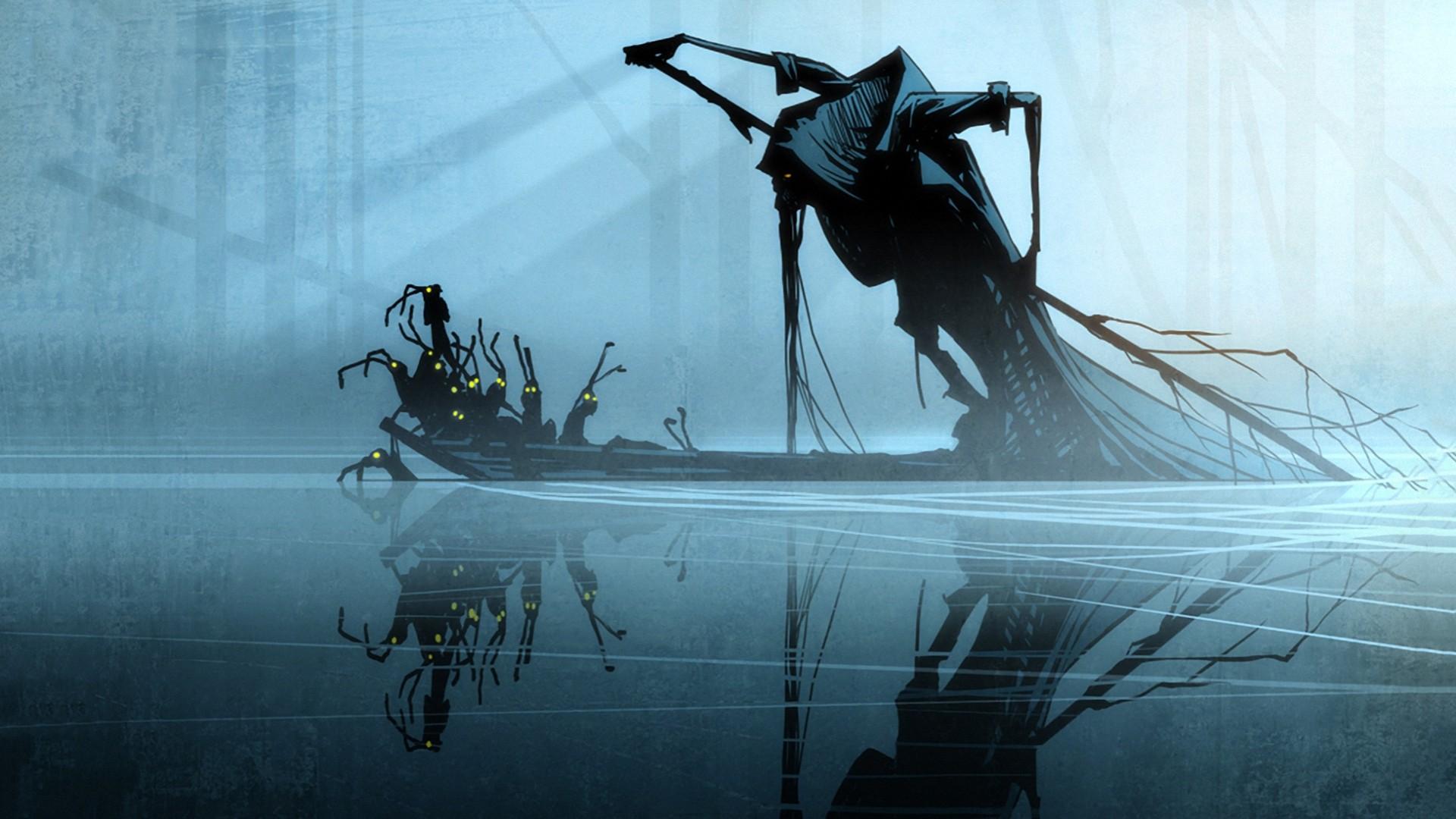 Wallpaper : Creepy, Reflection, Skeleton, Evil, Corpse