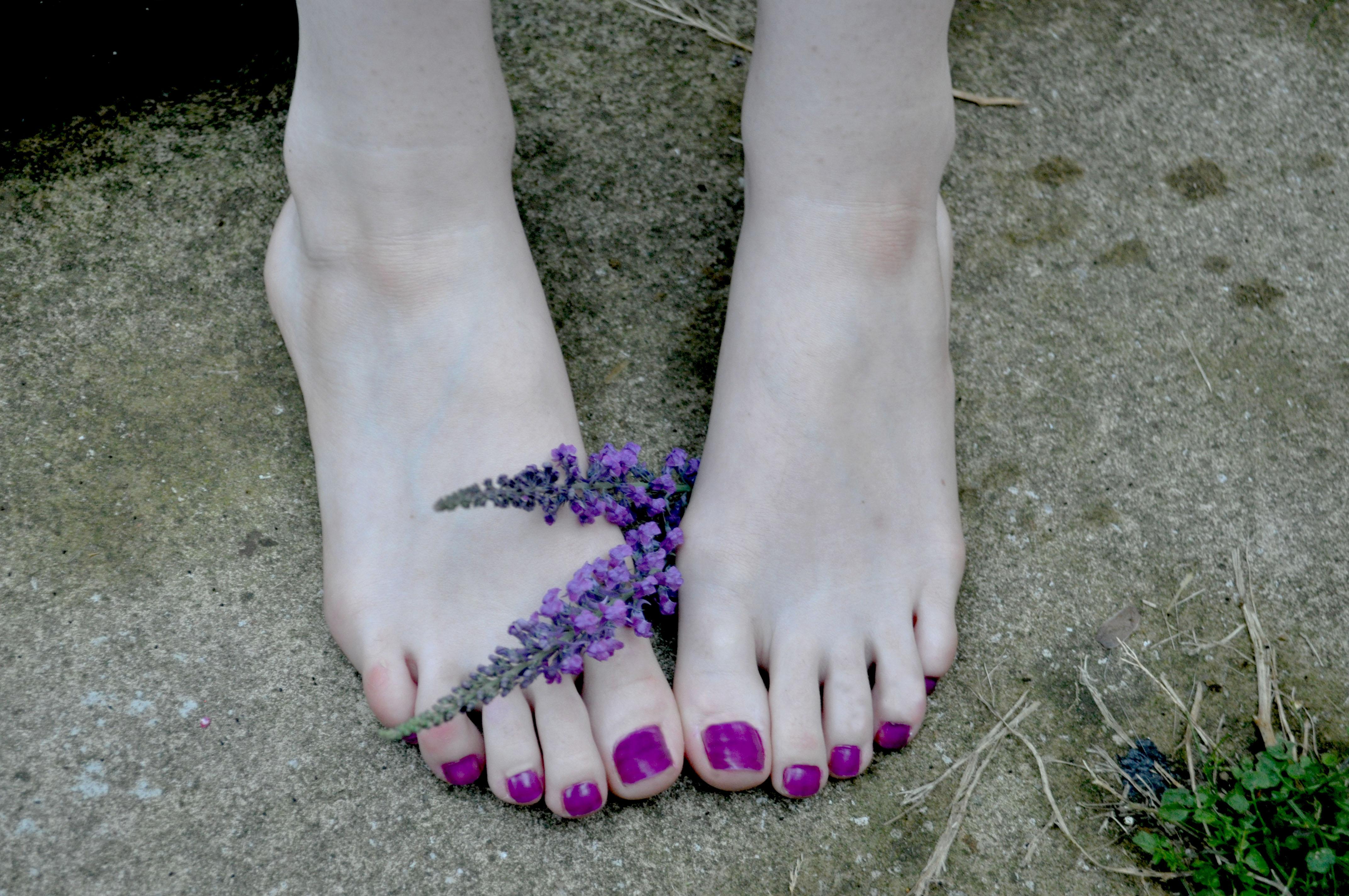 Nice cute sexy foot