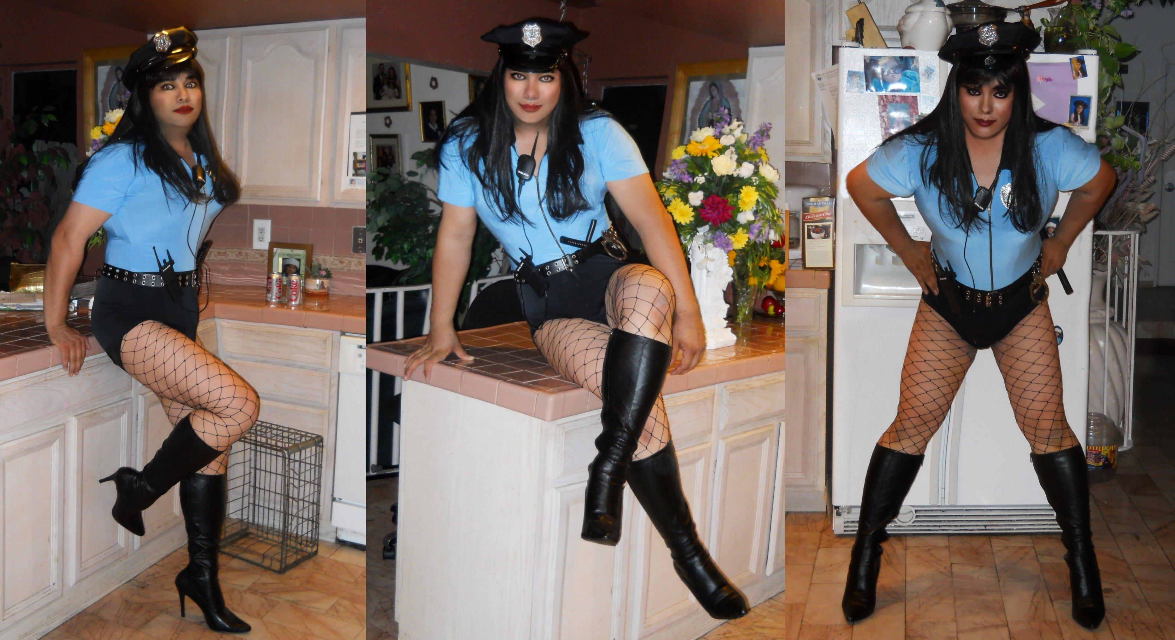 halloween dress up Transvestite crossdresser