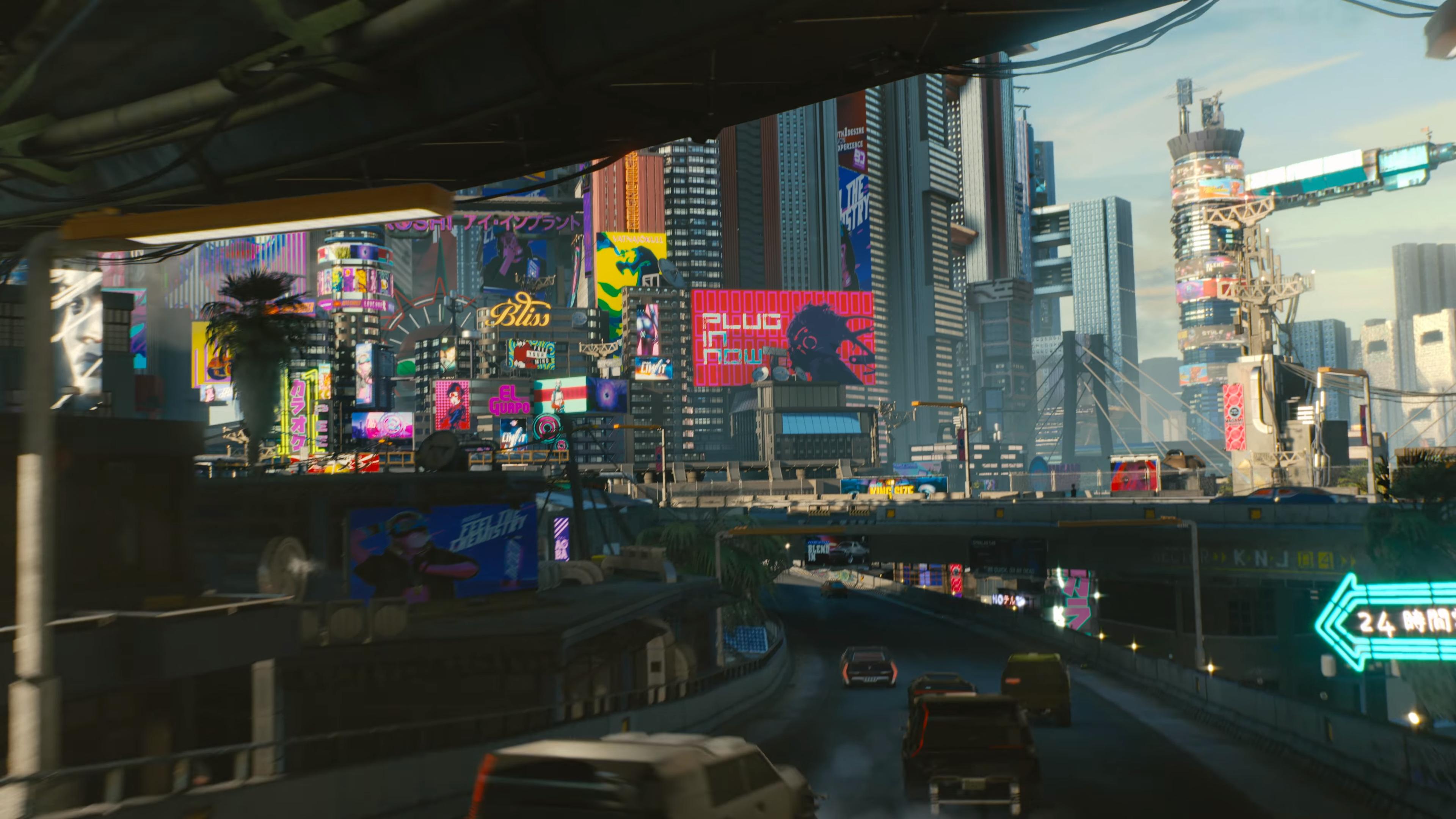Cyberpunk 2077 City Wallpaper: Wallpaper : Cyberpunk, Cyberpunk 2077 3840x2160