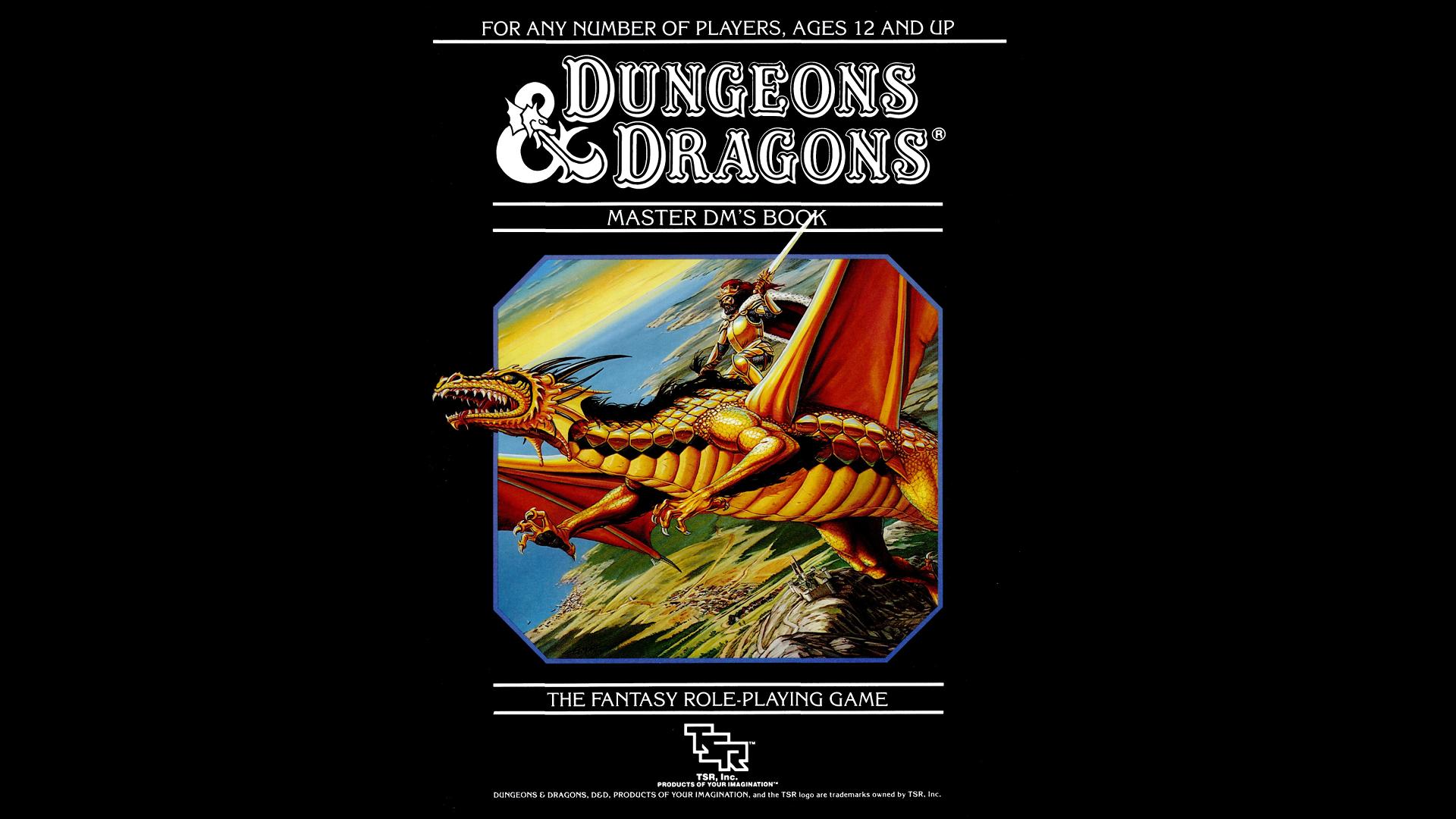 Wallpaper D D Dungeons Dragons Book Cover 1920x1080