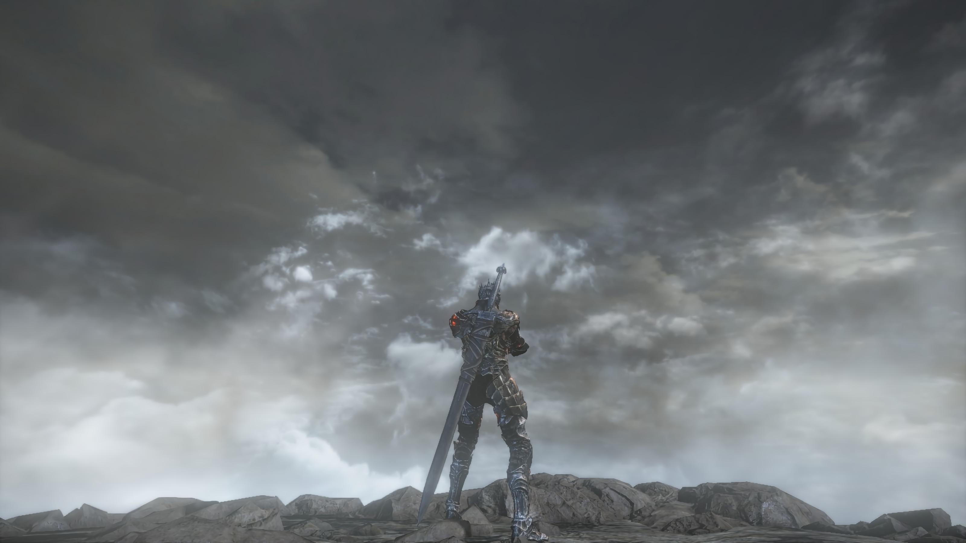 Wallpaper Dark Souls 3 Dark Souls Armor Sword 3200x1800