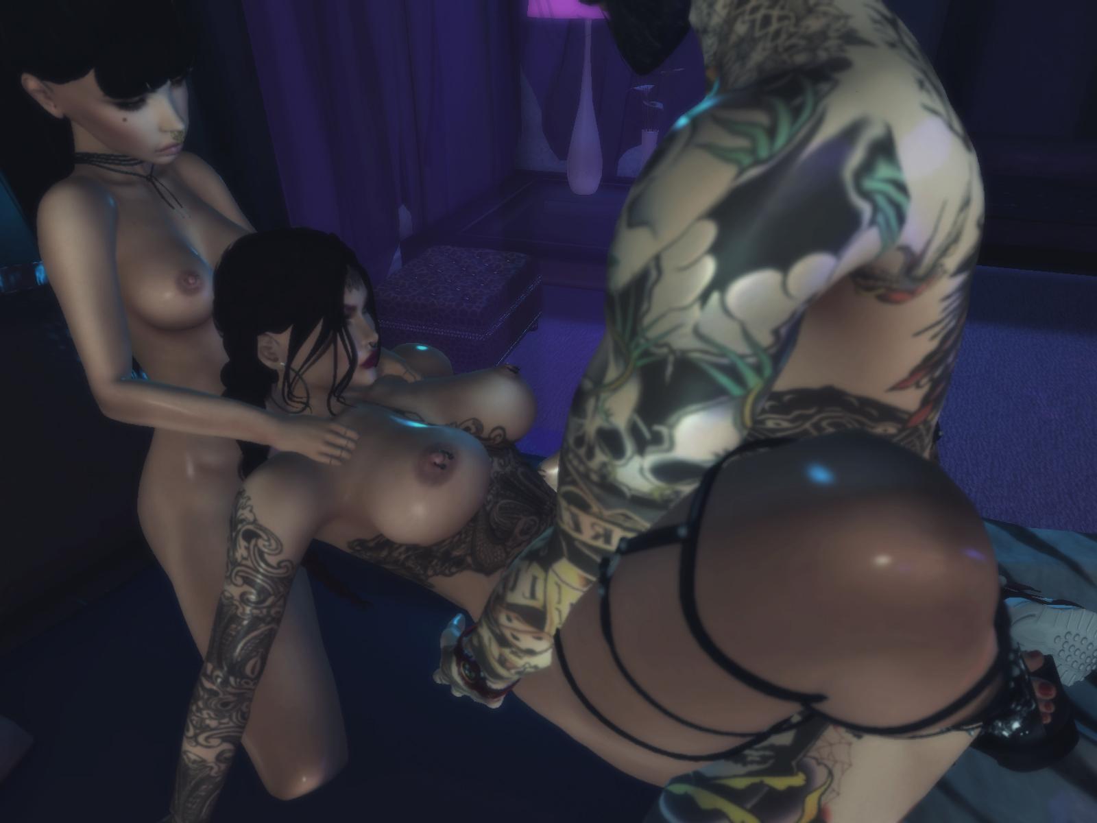 Kuva alaston Babes