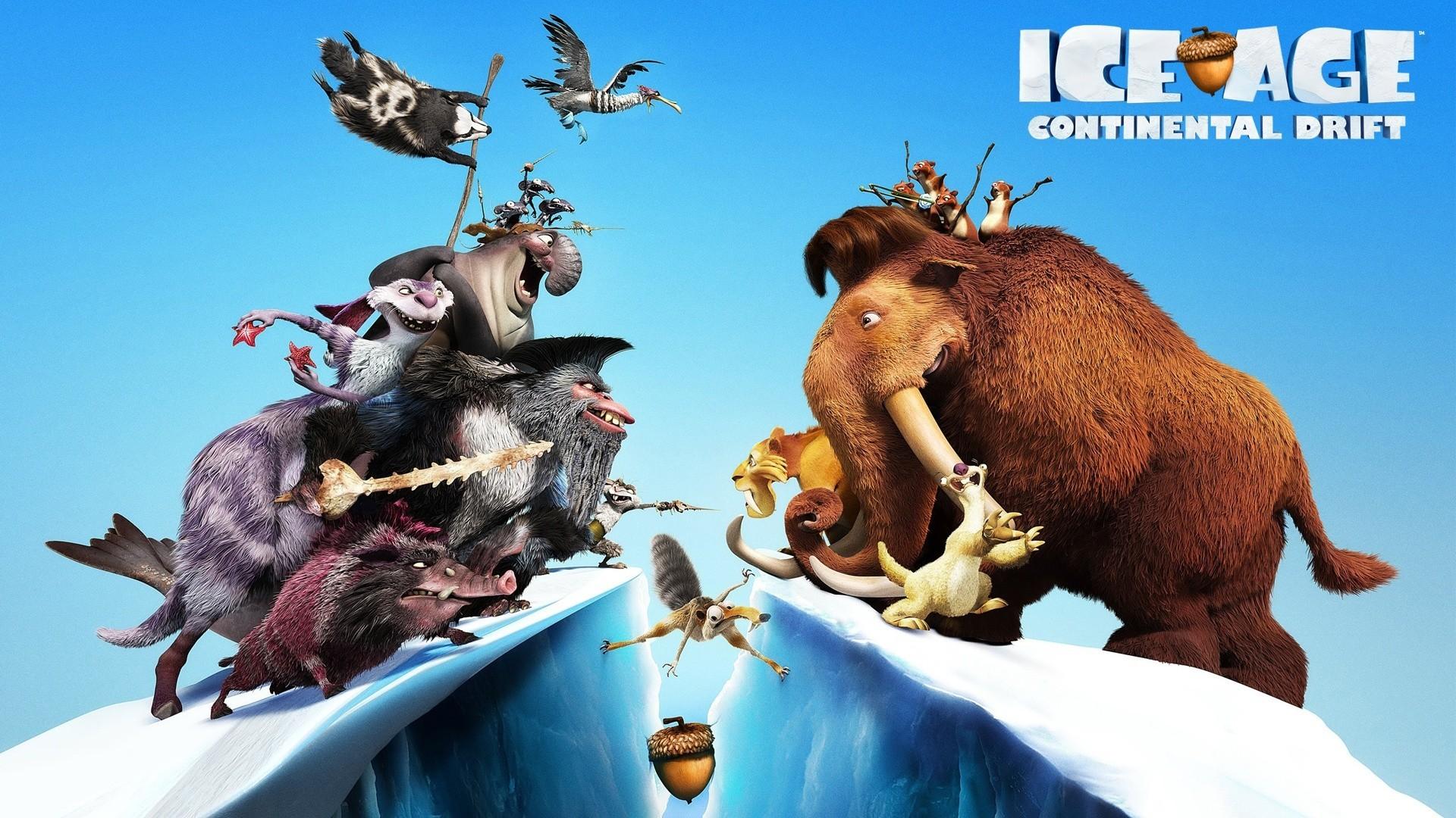 Masaüstü Geyik Filmler Vahşi Hayat Ren Geyiği Buz Devri Buz