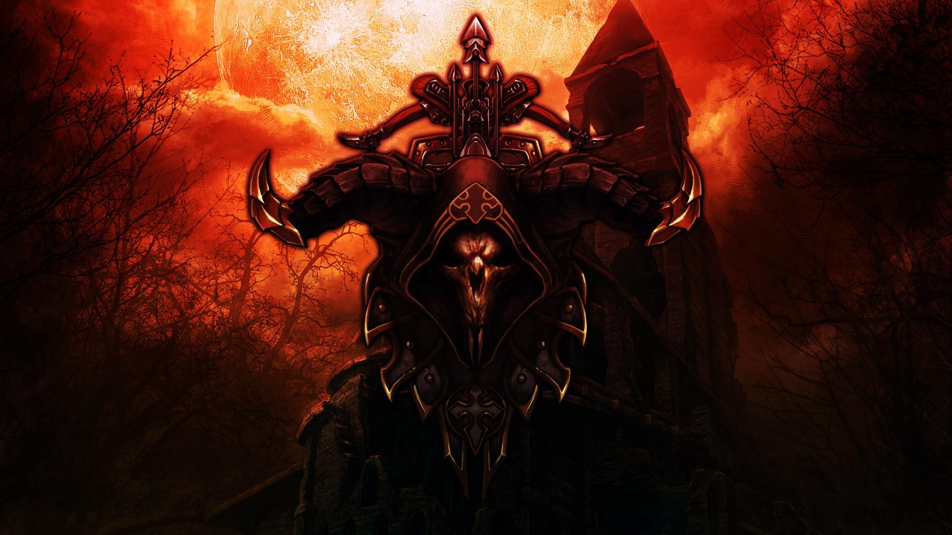 Wallpaper Demon Diablo Iii Person Mythology Demon Hunter