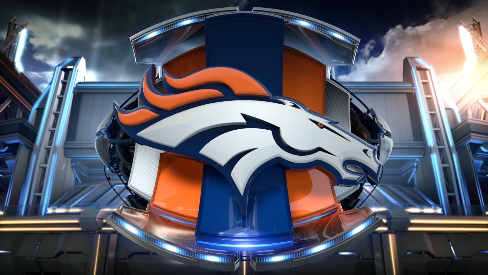 Hintergrundbilder Denver Broncos Logo Amerikanischer Fußball