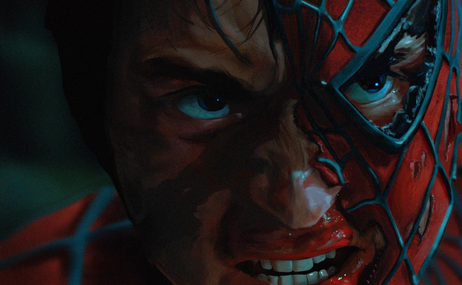 Wallpaper Digital Art Tobey Maguire Spider Man 1596x984