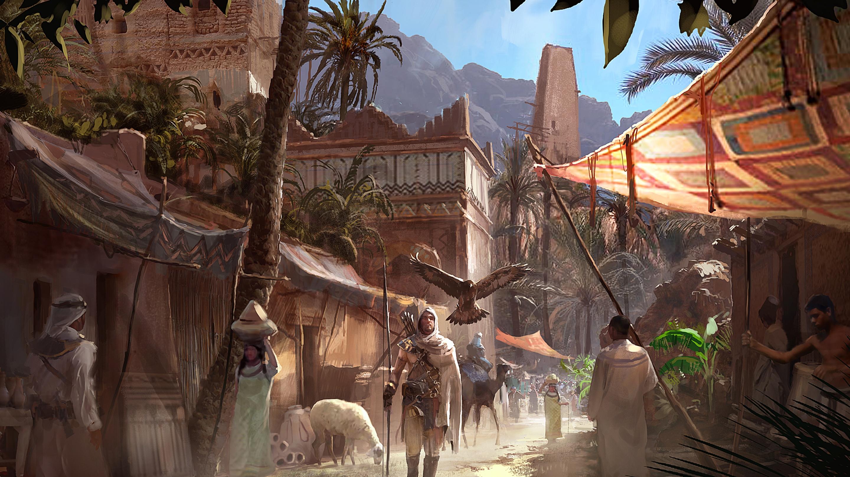 Wallpaper Digital Art Artwork Video Games Assassins