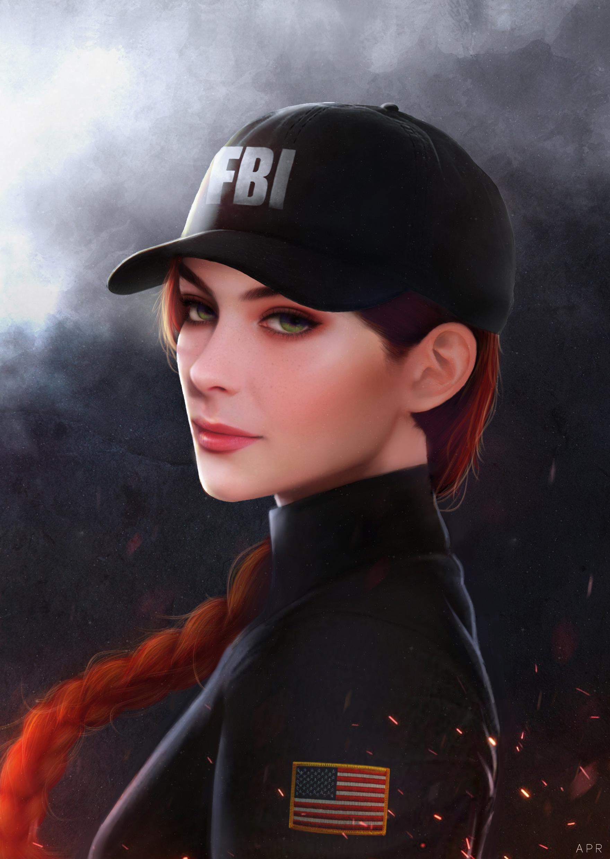 Wallpaper Digital Art Artwork Video Games Women Rainbow Six