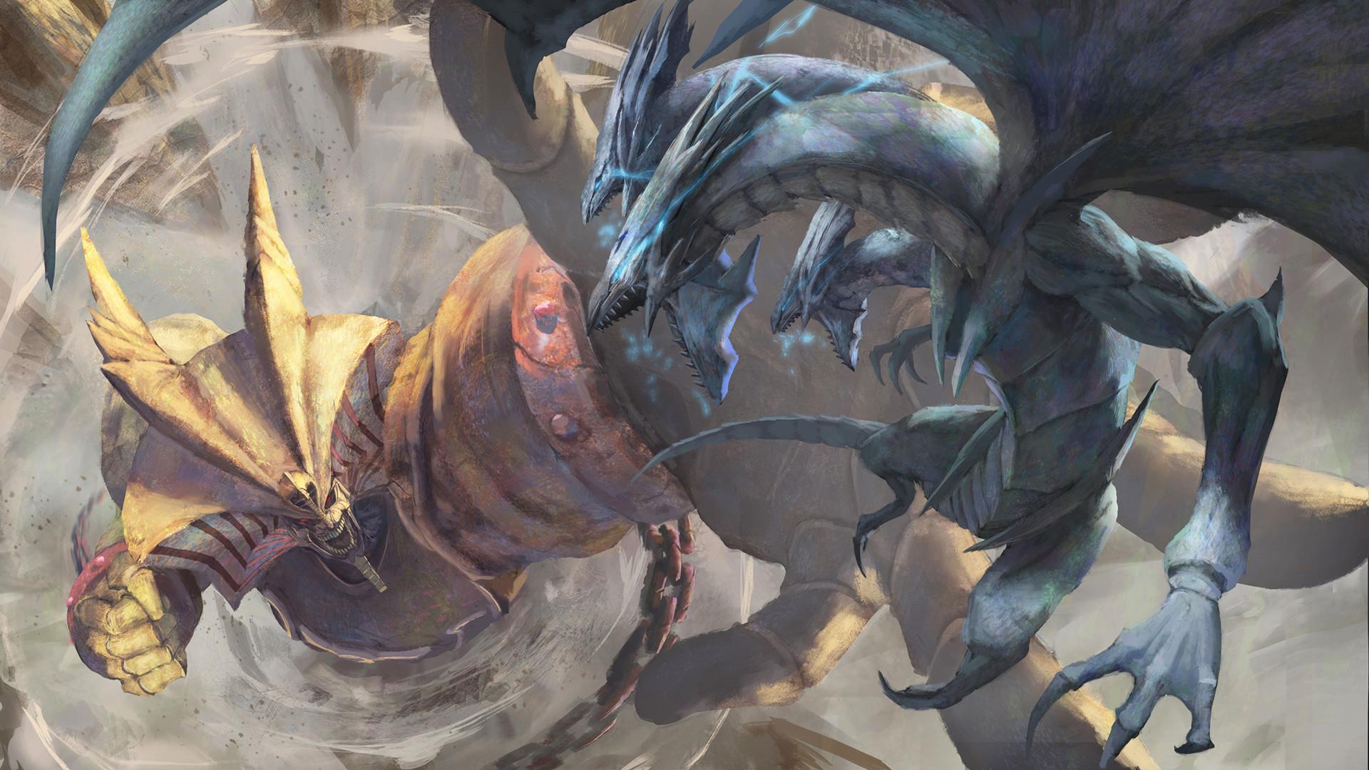 Wallpaper Digital Art Artwork Video Games Yugioh Dragon