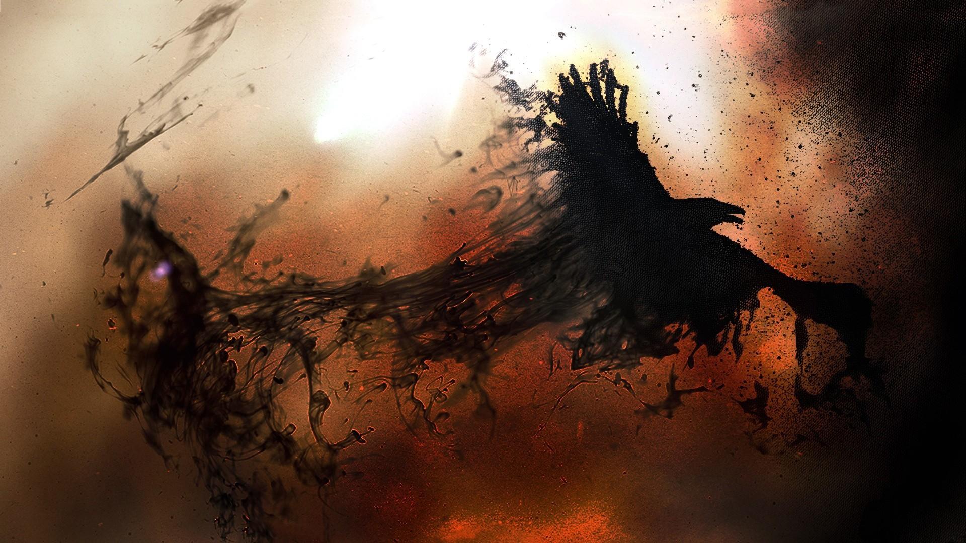 всегда картинки ворона в огне включаю камеру экран