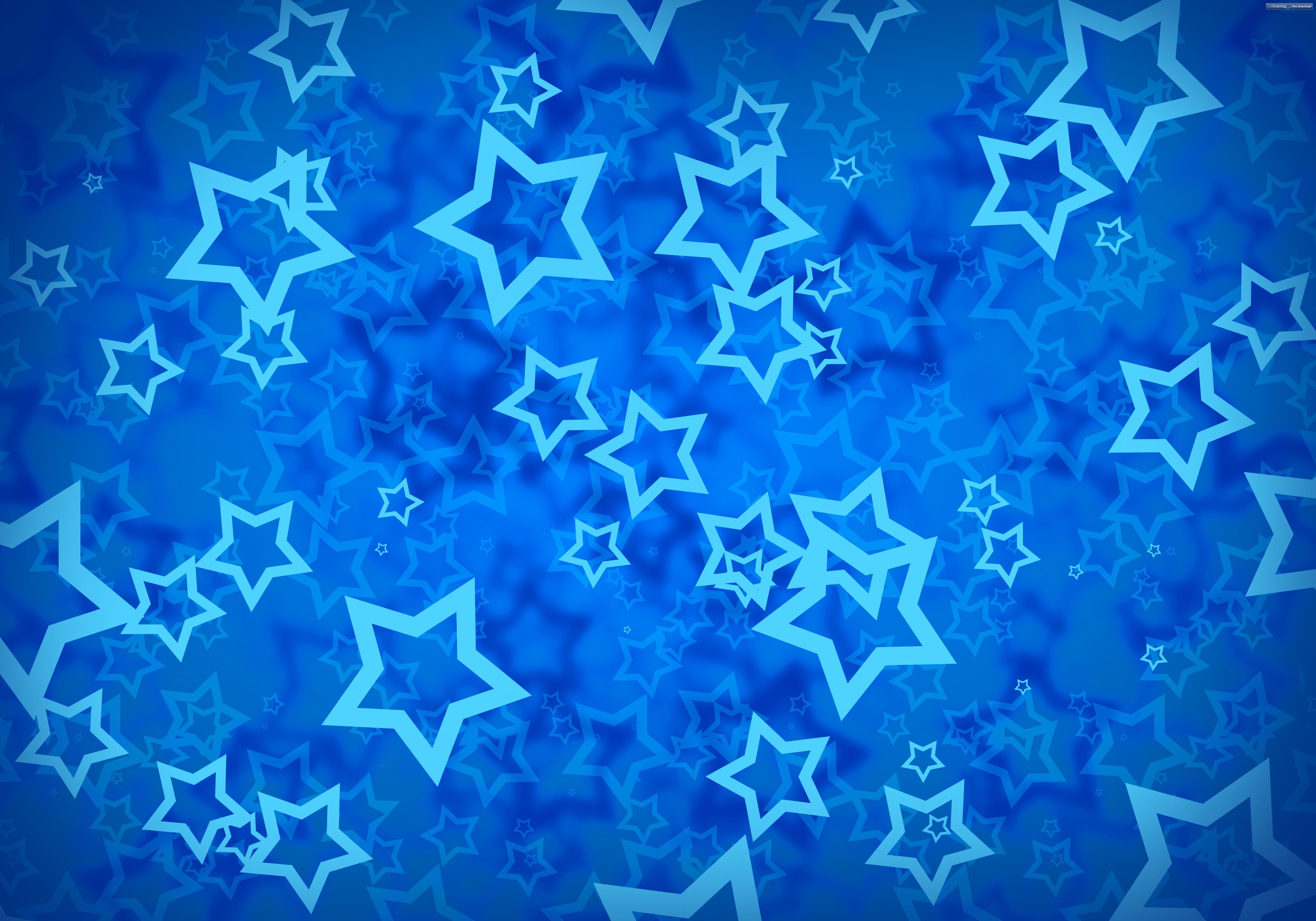 Patrón De Fondo De Pantalla De Deportes: Fondos De Pantalla : Arte Digital, Fondo Azul, Estrellas