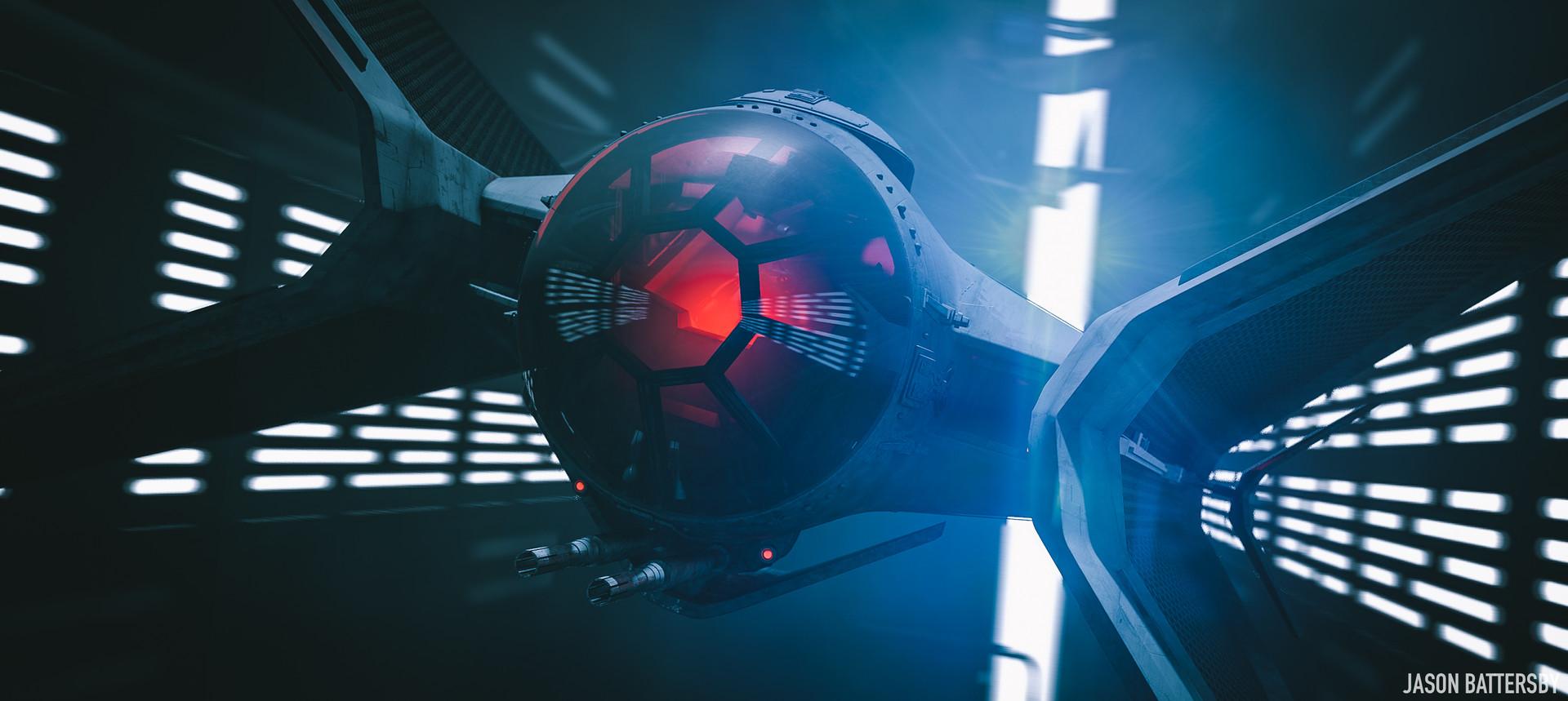 Wallpaper Digital Art Concept Art Star Wars Tie Fighter
