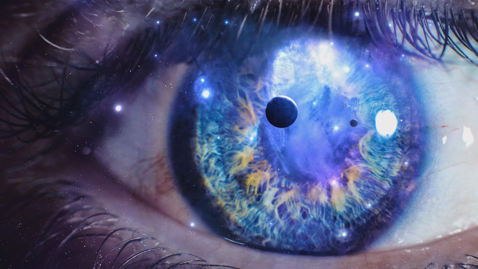 было хотел фото глаз во вселенной нежно розовые округлые