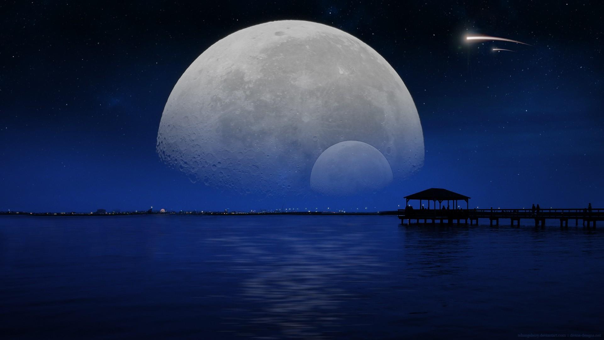может, картинки ночь полнолуние может макарий перешла