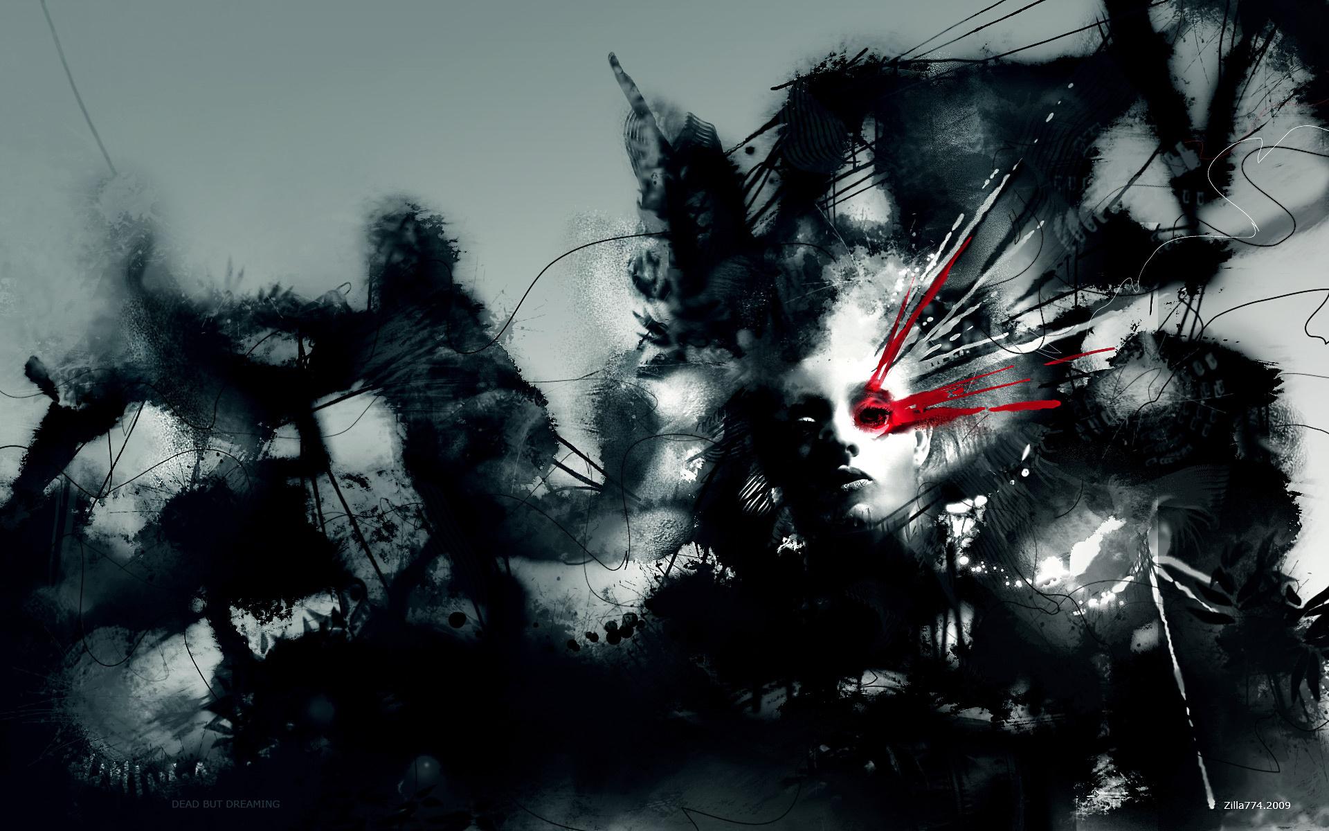 Favorite Wallpaper : digital art, fantasy art, selective coloring, face  IP96