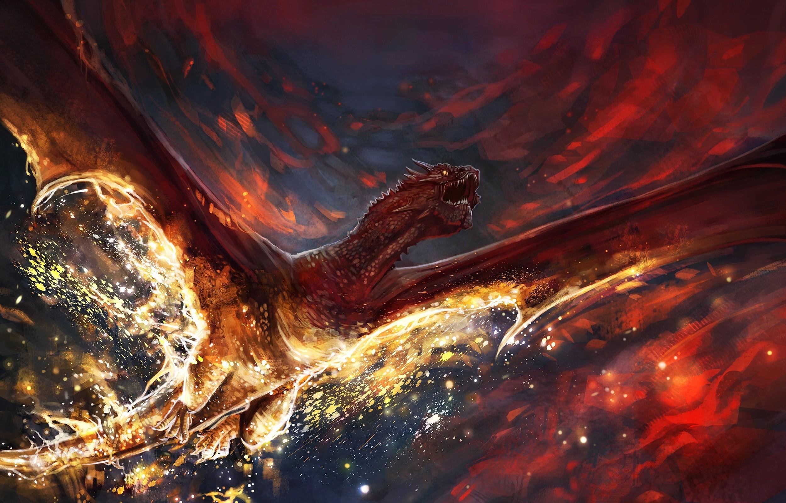 Earth Digital Art Hd Wallpaper: Wallpaper : Digital Art, Fantasy Art, Artwork, Earth, Fire