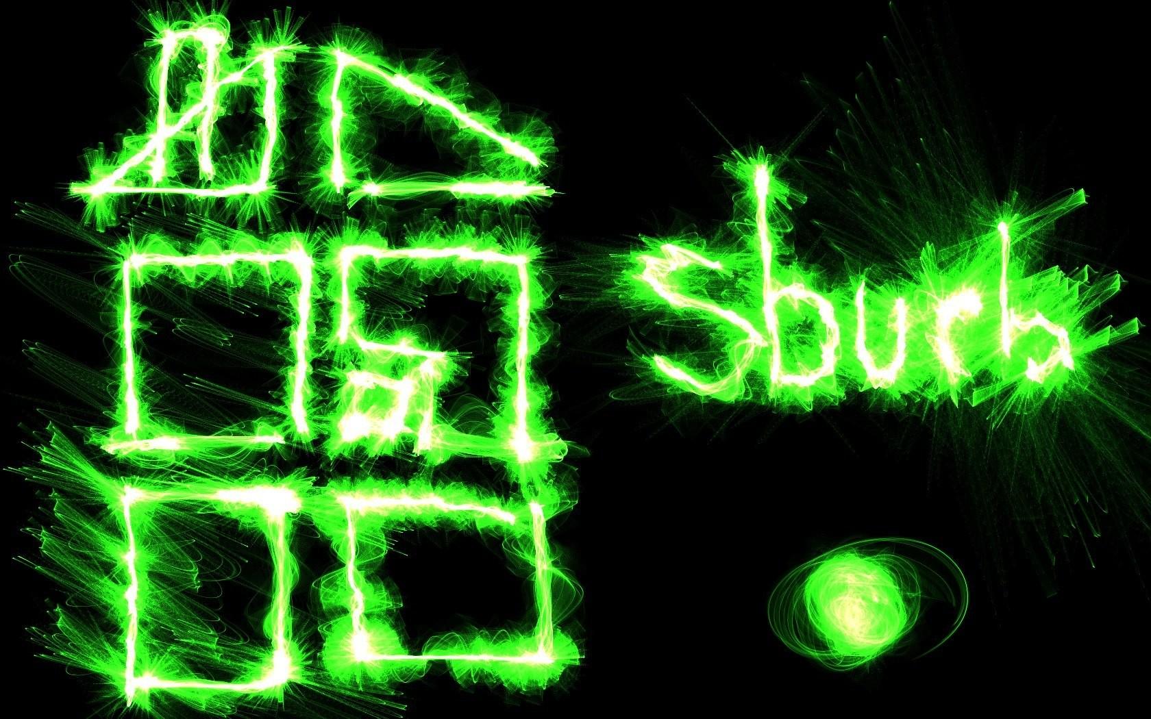 Wallpaper Digital Art Neon Green Circle Homestuck Light