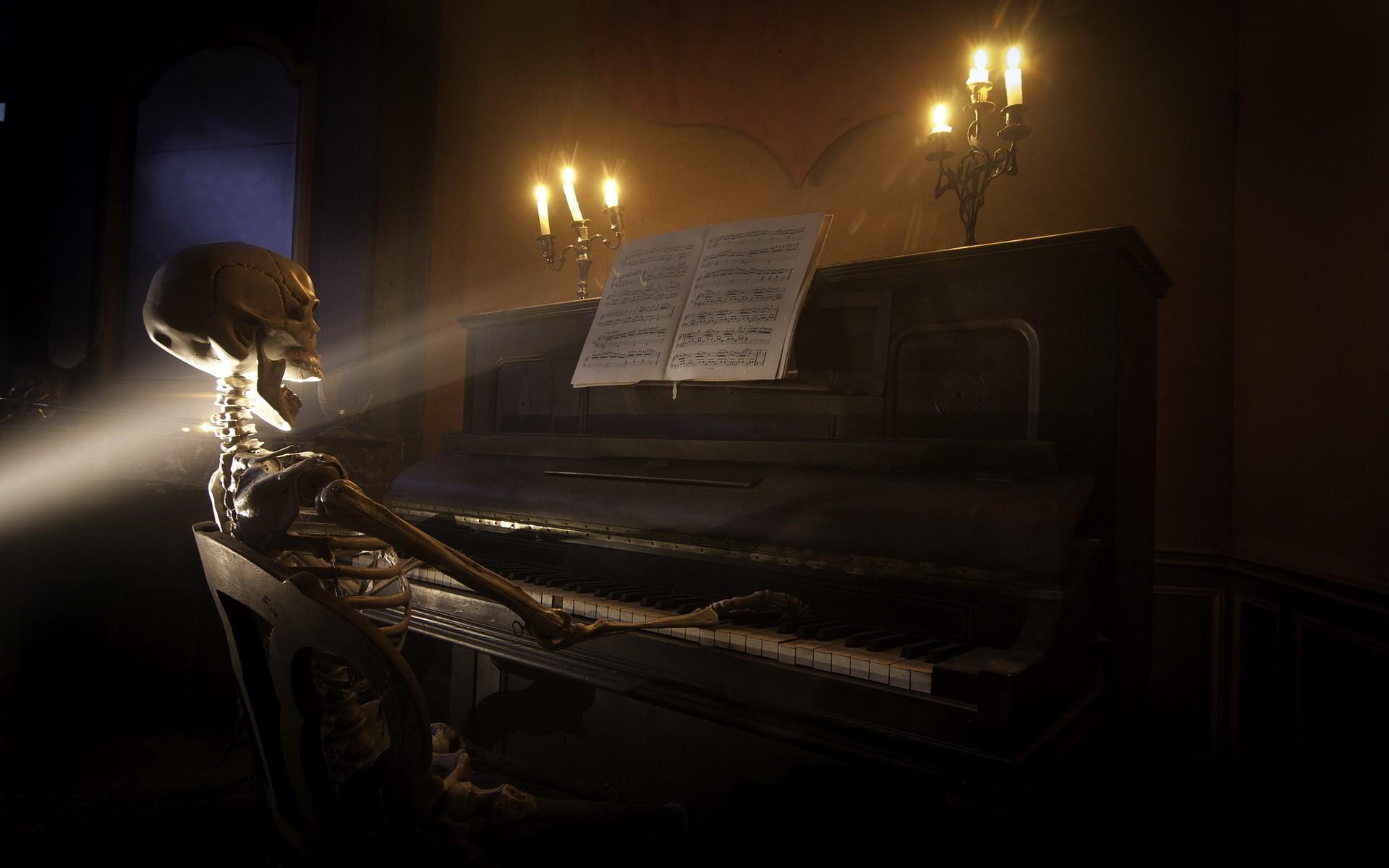 Sfondi : arte digitale notte 3d bocca aperta seduta candele