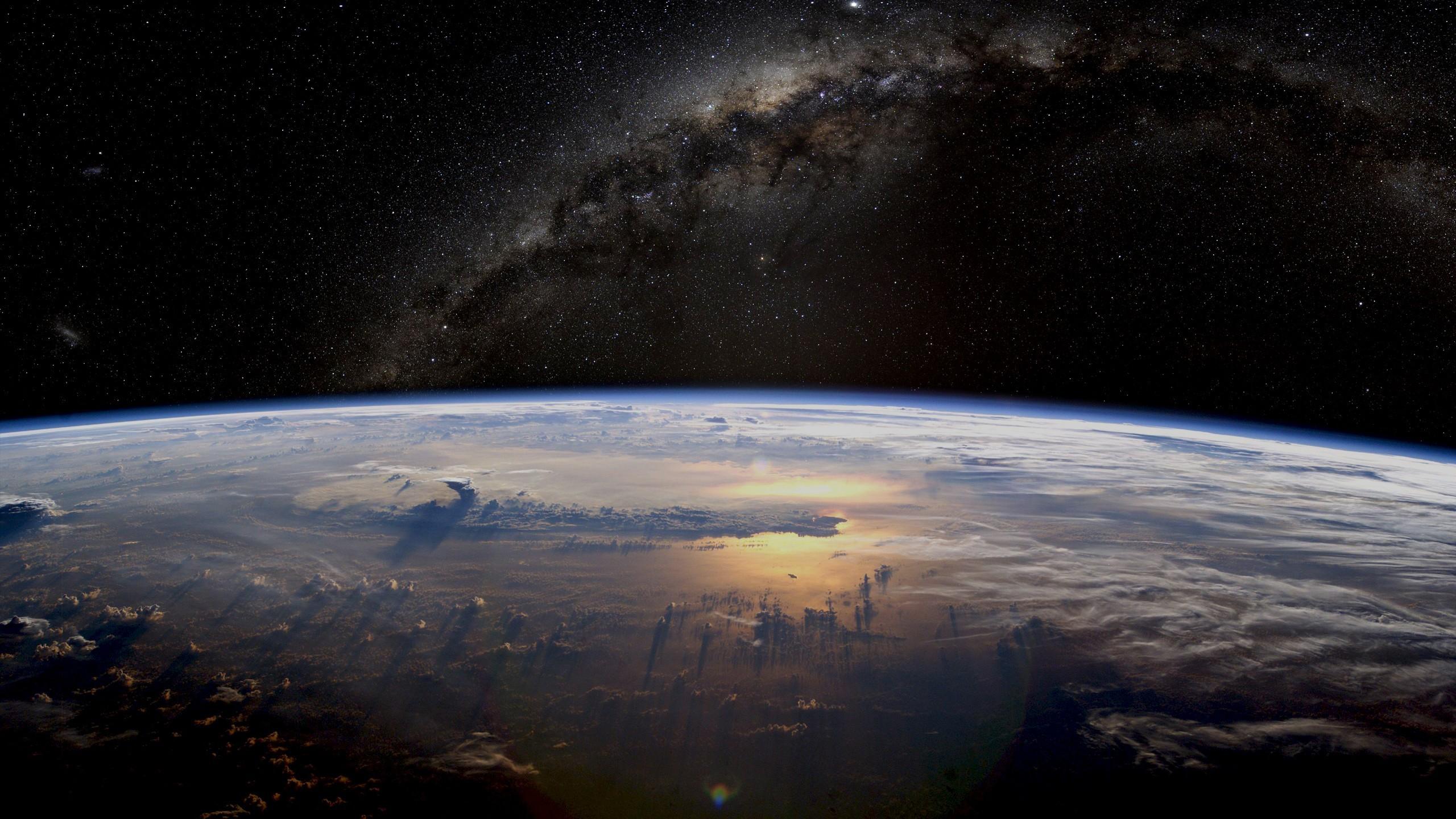 Fondos De Pantalla : Arte Digital, Noche, Galaxia, Planeta