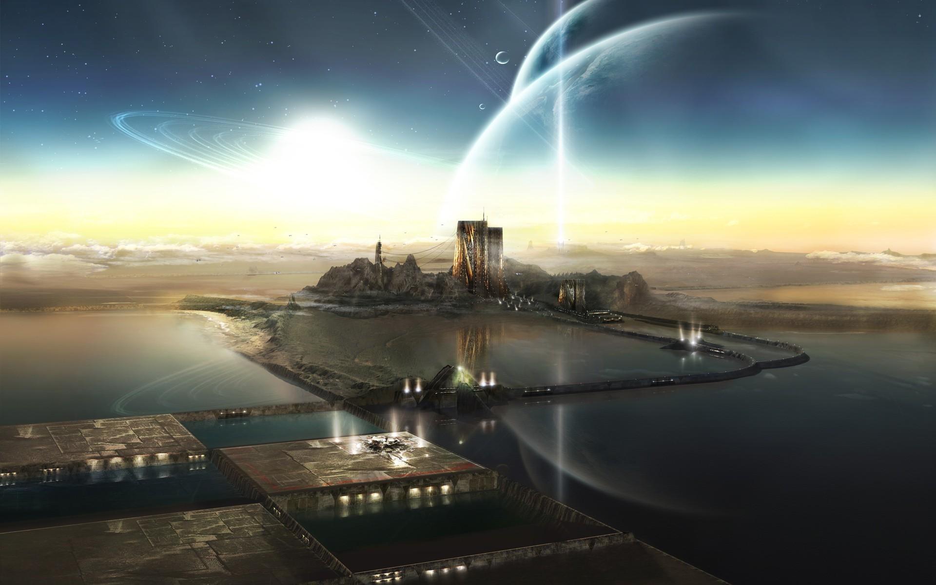 каждому заказу космические города фото просите
