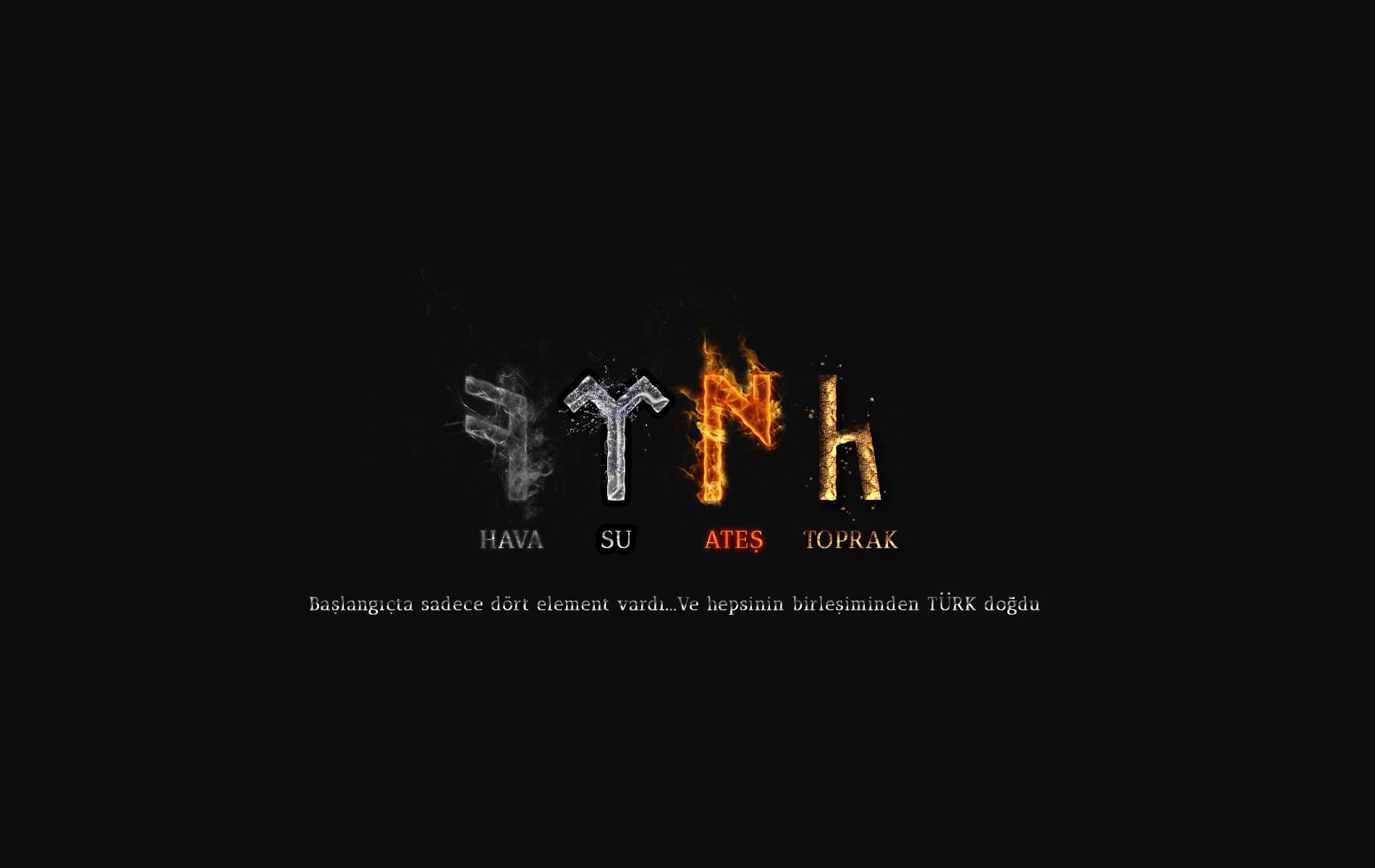 Digital Art Night Text Logo Graphic Design Turkish Letter Brand G Kt Rkler Runic Alphabet