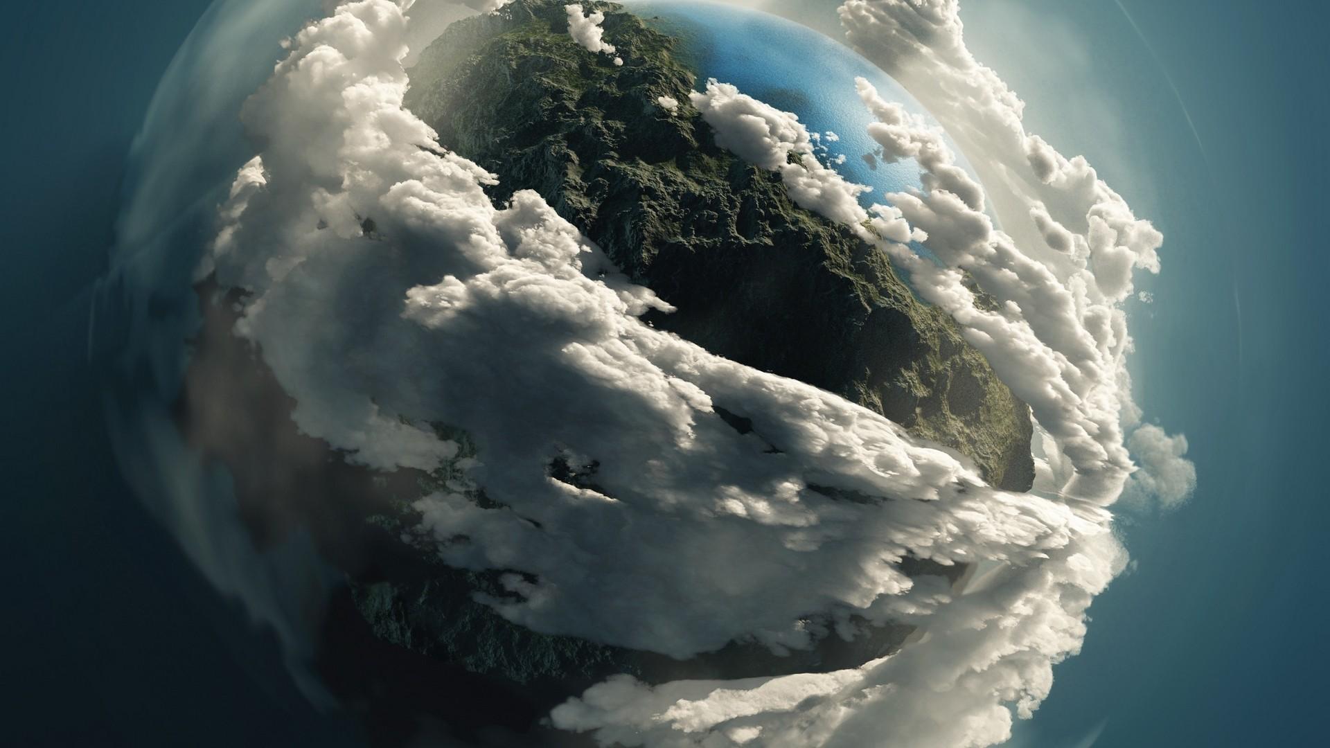 облака вокруг земли картинки жить
