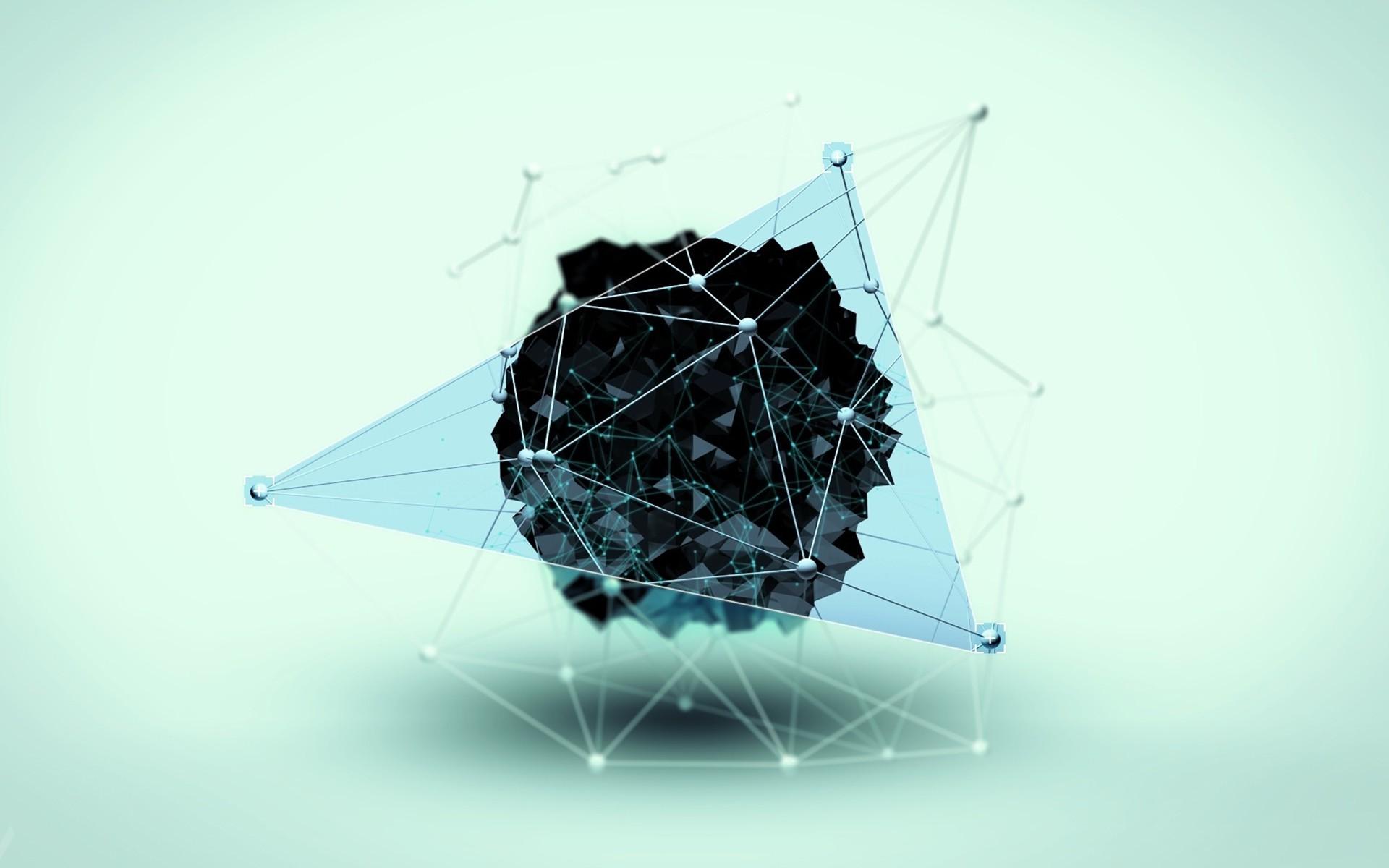 fond d 39 cran art num rique fond simple abstrait 3d conception graphique triangle formes. Black Bedroom Furniture Sets. Home Design Ideas