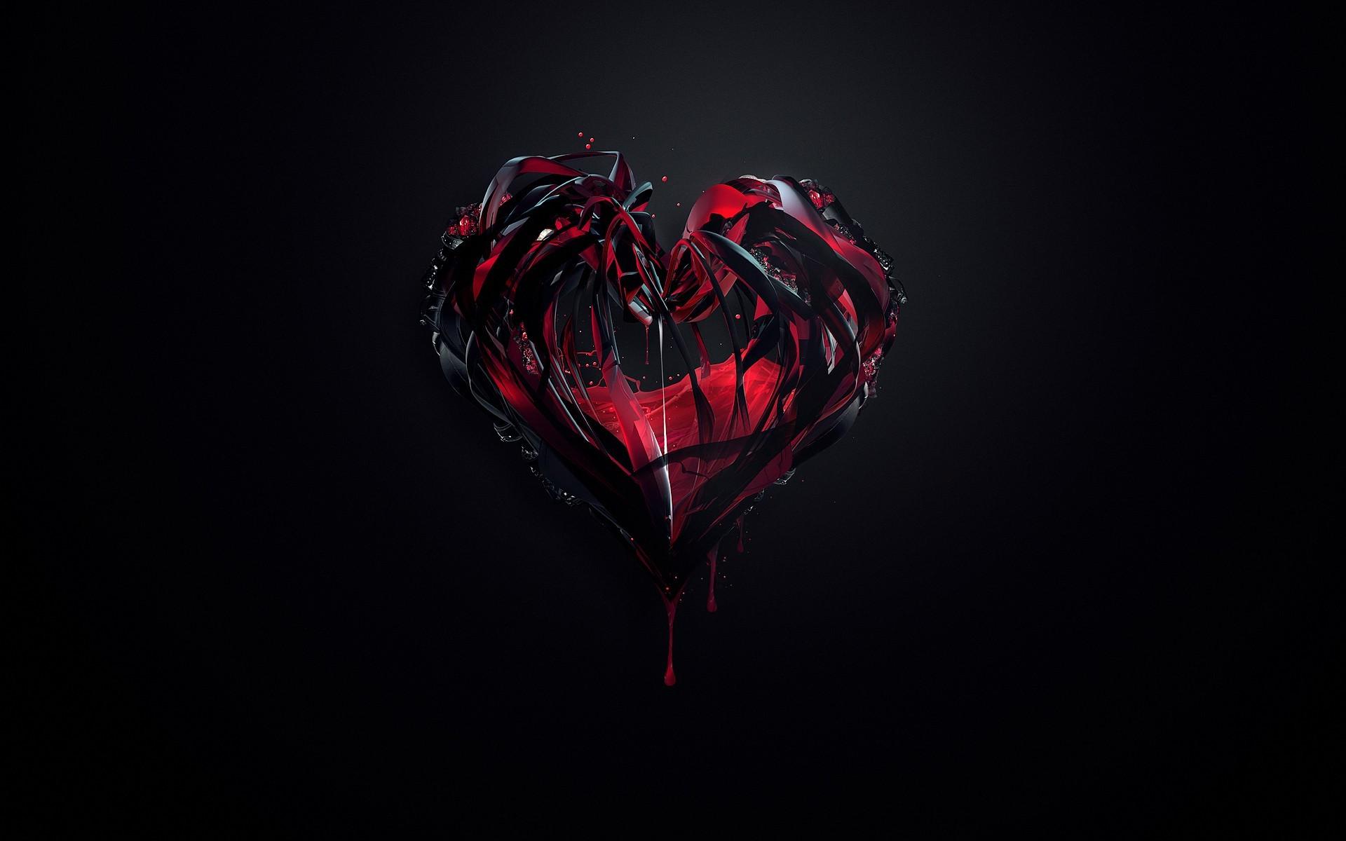 fond d u0026 39  u00e9cran   art num u00e9rique  fond simple  fonc u00e9  anime  abstrait  amour  c u0153ur  rouge  du sang