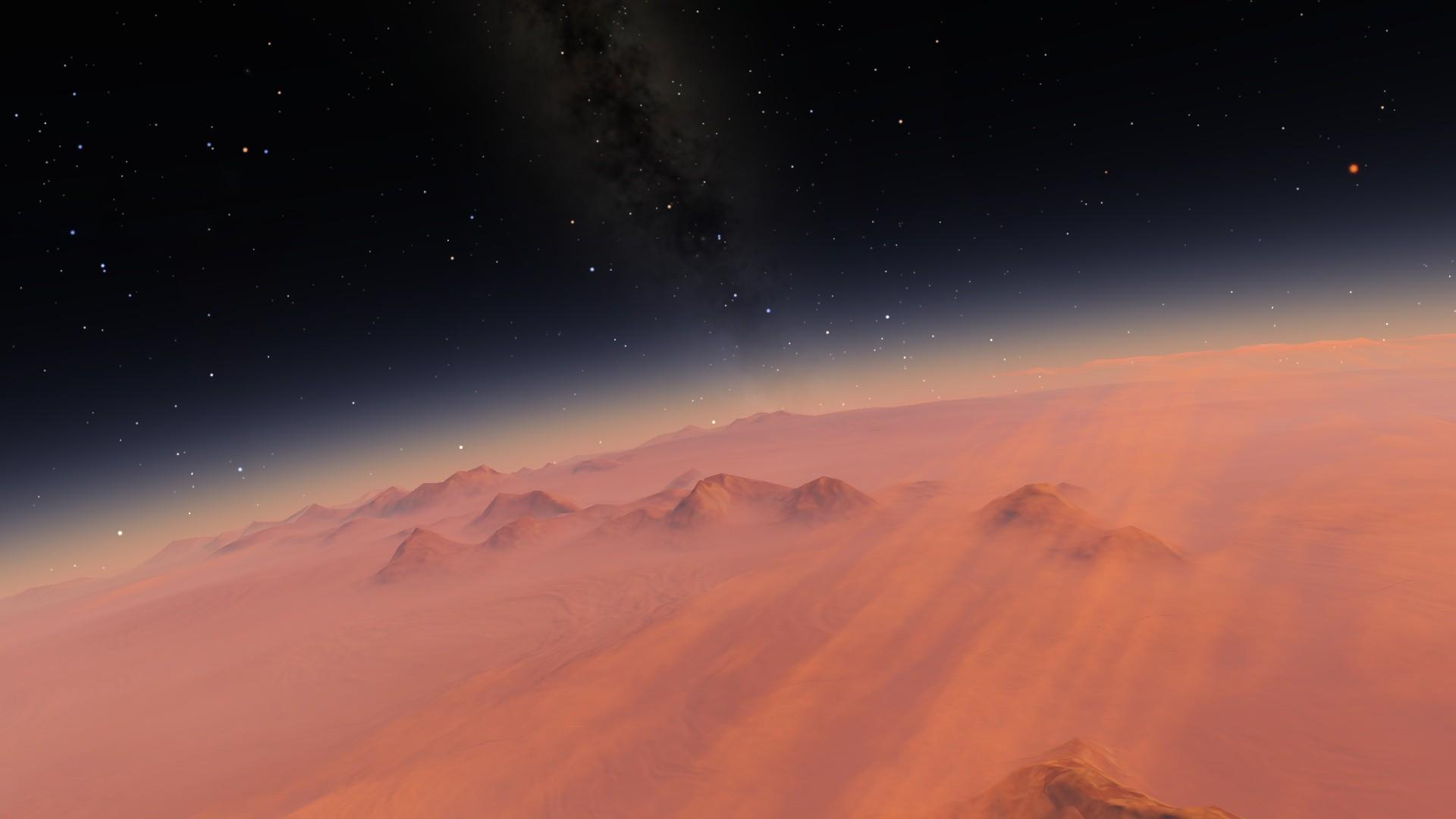 Wallpaper Digital Art Space Art Atmosphere Screenshot