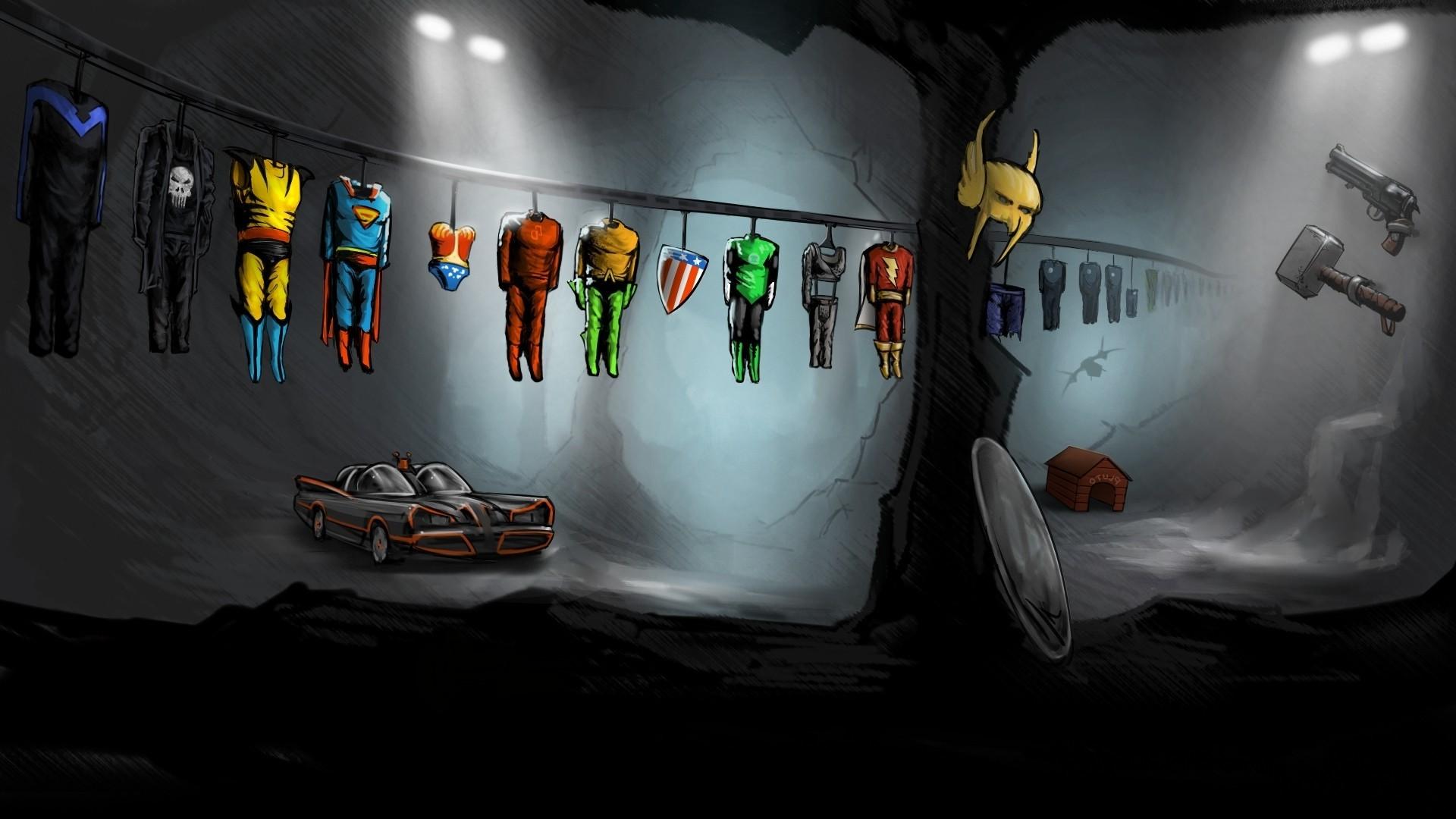 Wallpaper Digital Art Space Weapon Artwork Batman Helmet