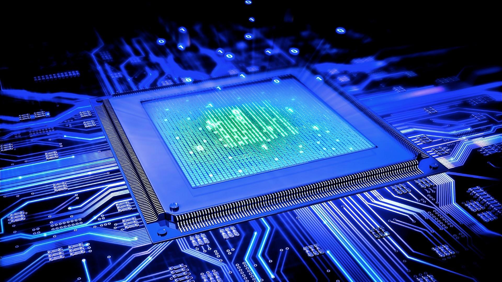 Wallpaper : Digital Art, Technology, CPU, Hardware, Games
