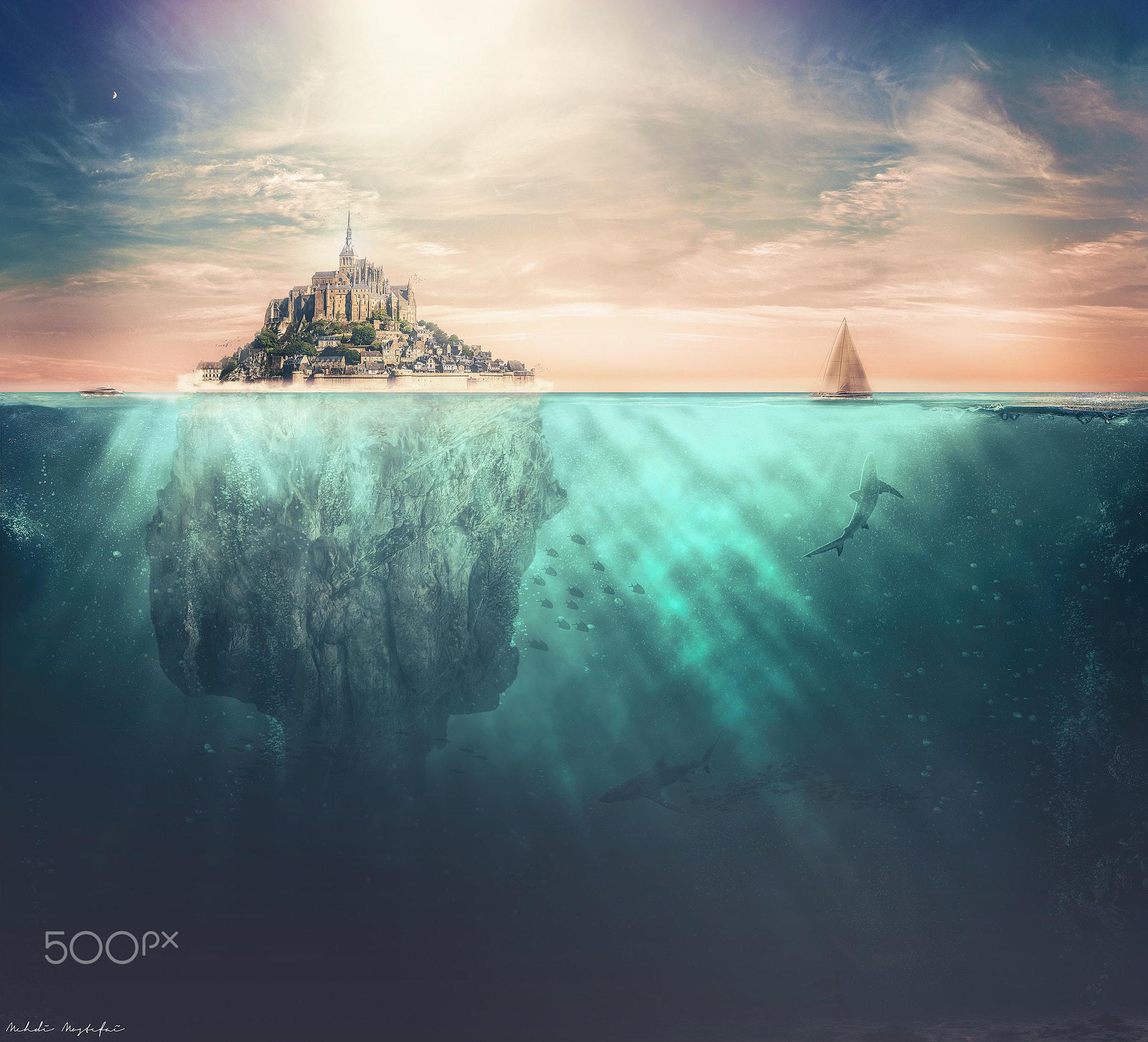 Fondos De Pantalla Arte Digital Submarino Mar Mehdi