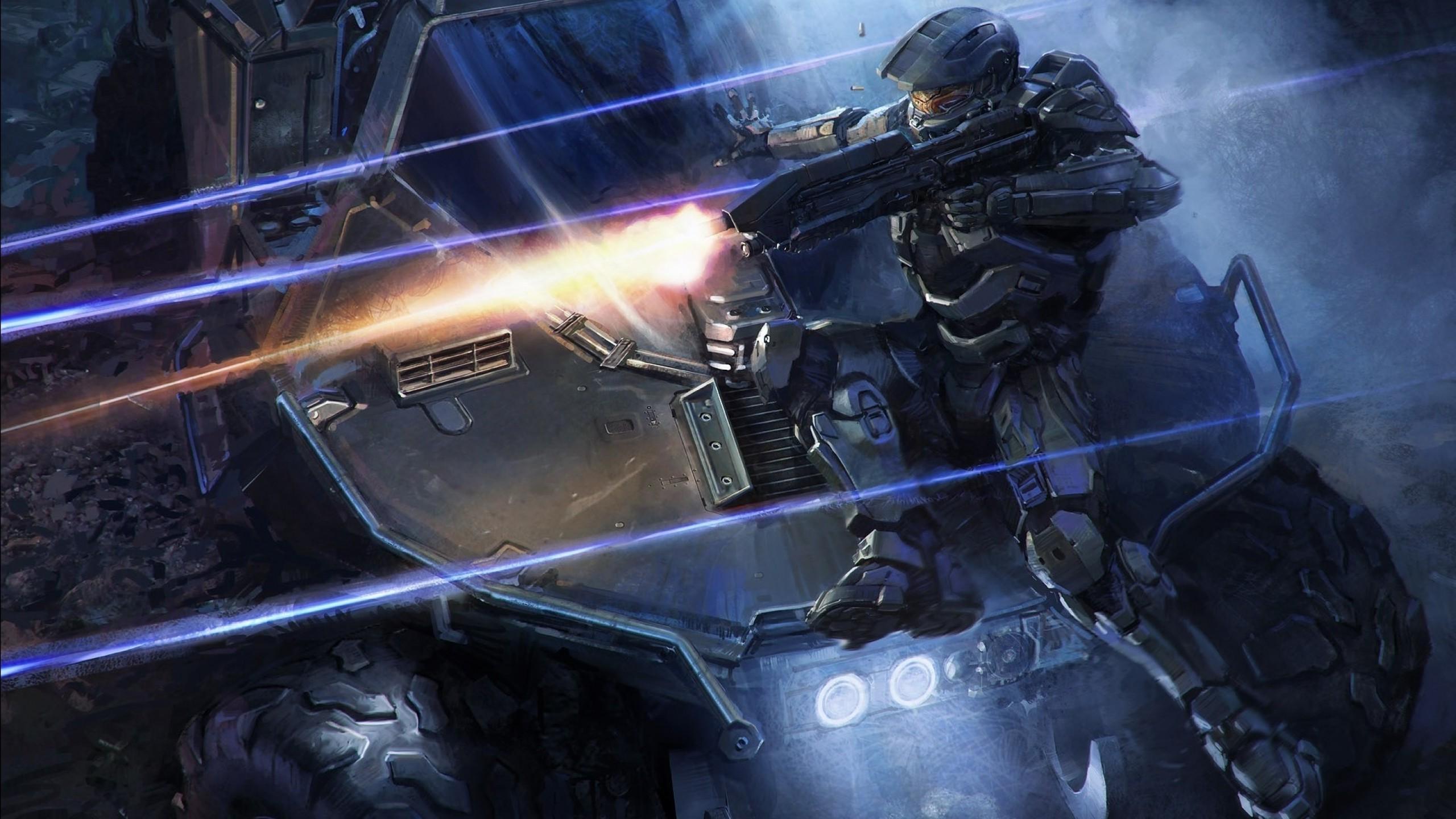 Wallpaper Digital Art Video Games Master Chief Xbox One