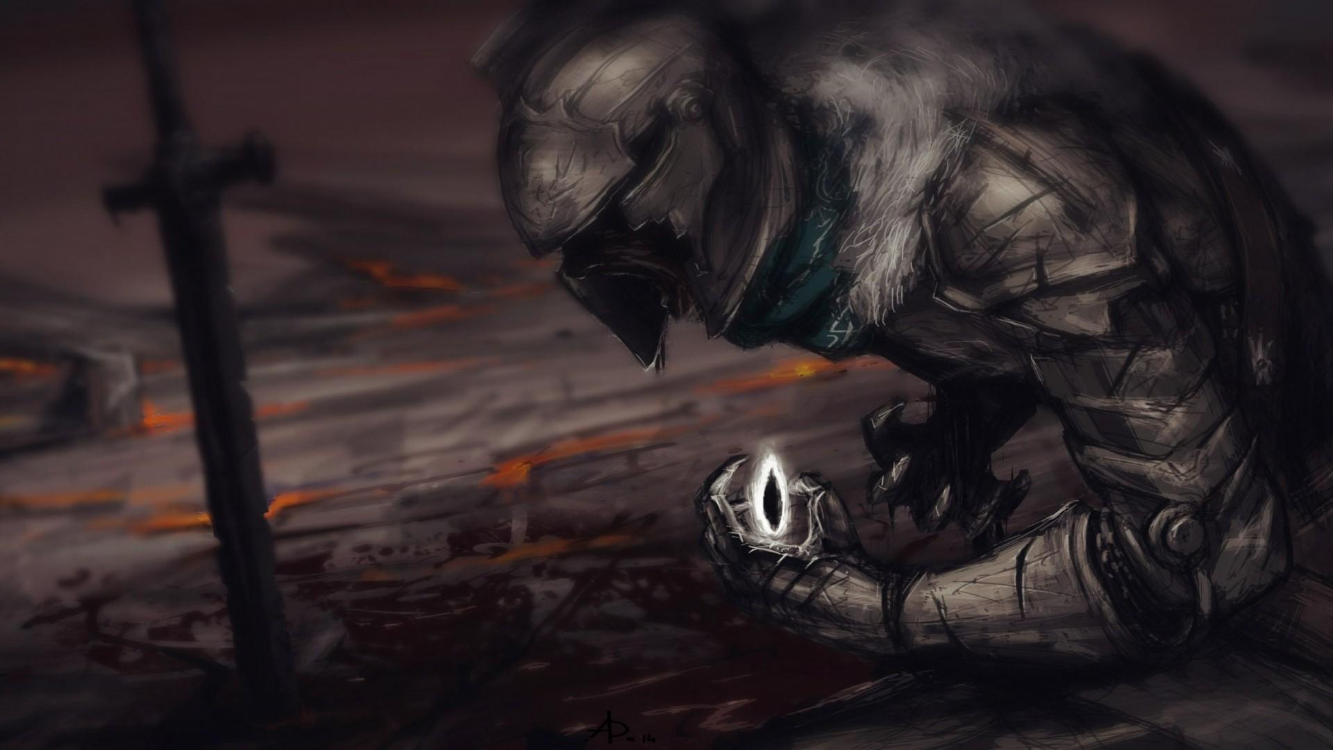 Wallpaper Digital Art Video Games Dark Knight Dark