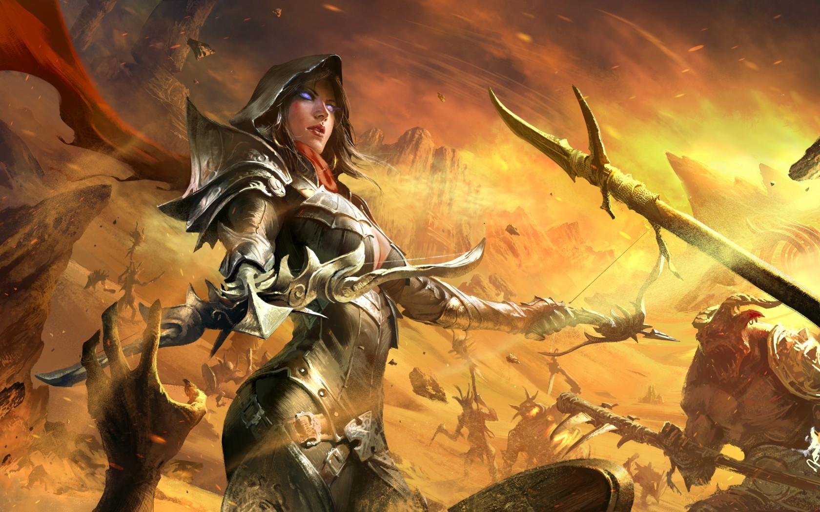 Wallpaper Digital Art Video Games Fantasy Art Fantasy Girl
