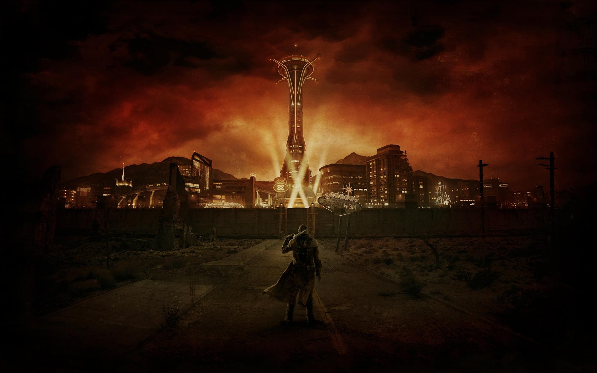 Wallpaper : Digital Art, Video Games, Night, Apocalyptic