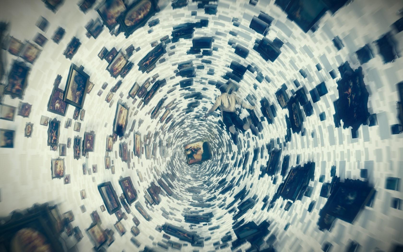 Fondos de pantalla : arte digital, videojuegos, espacio, reflexión ...