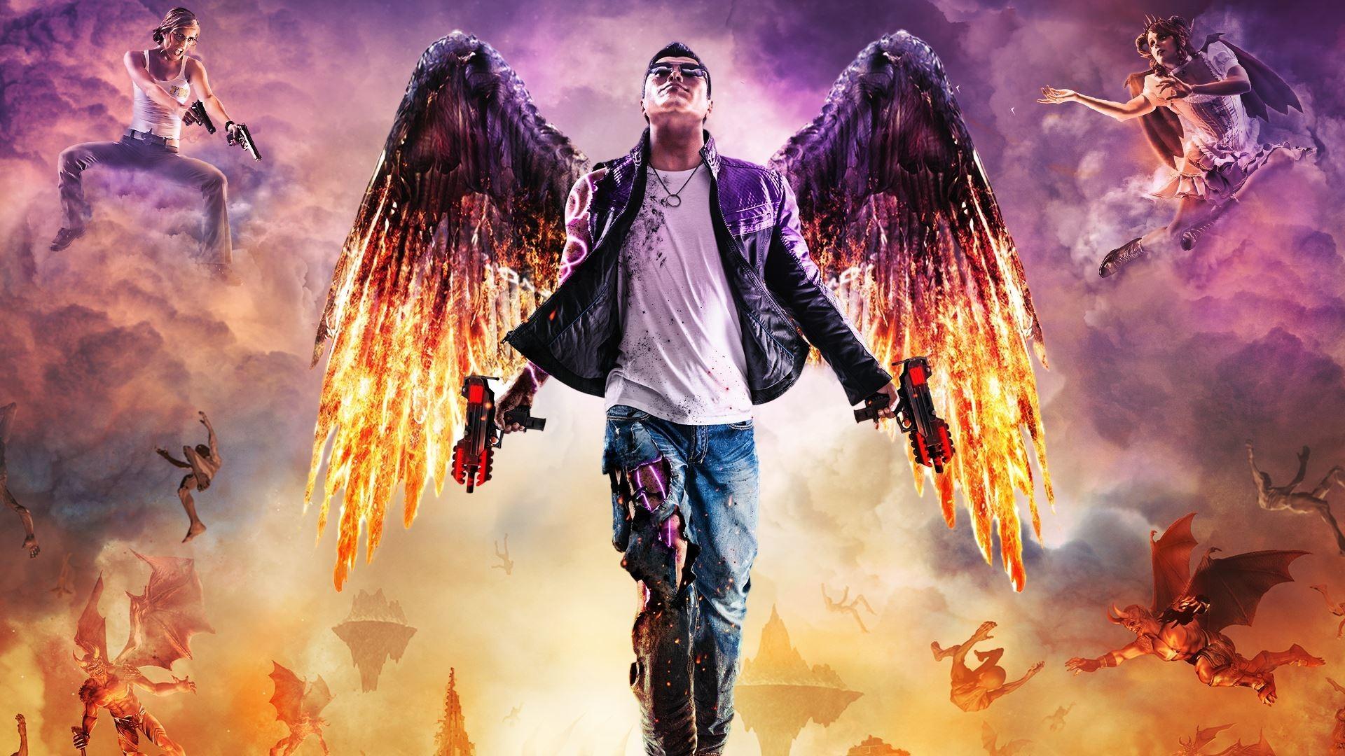 Wallpaper Digital Art Video Games Wings Fire Mythology